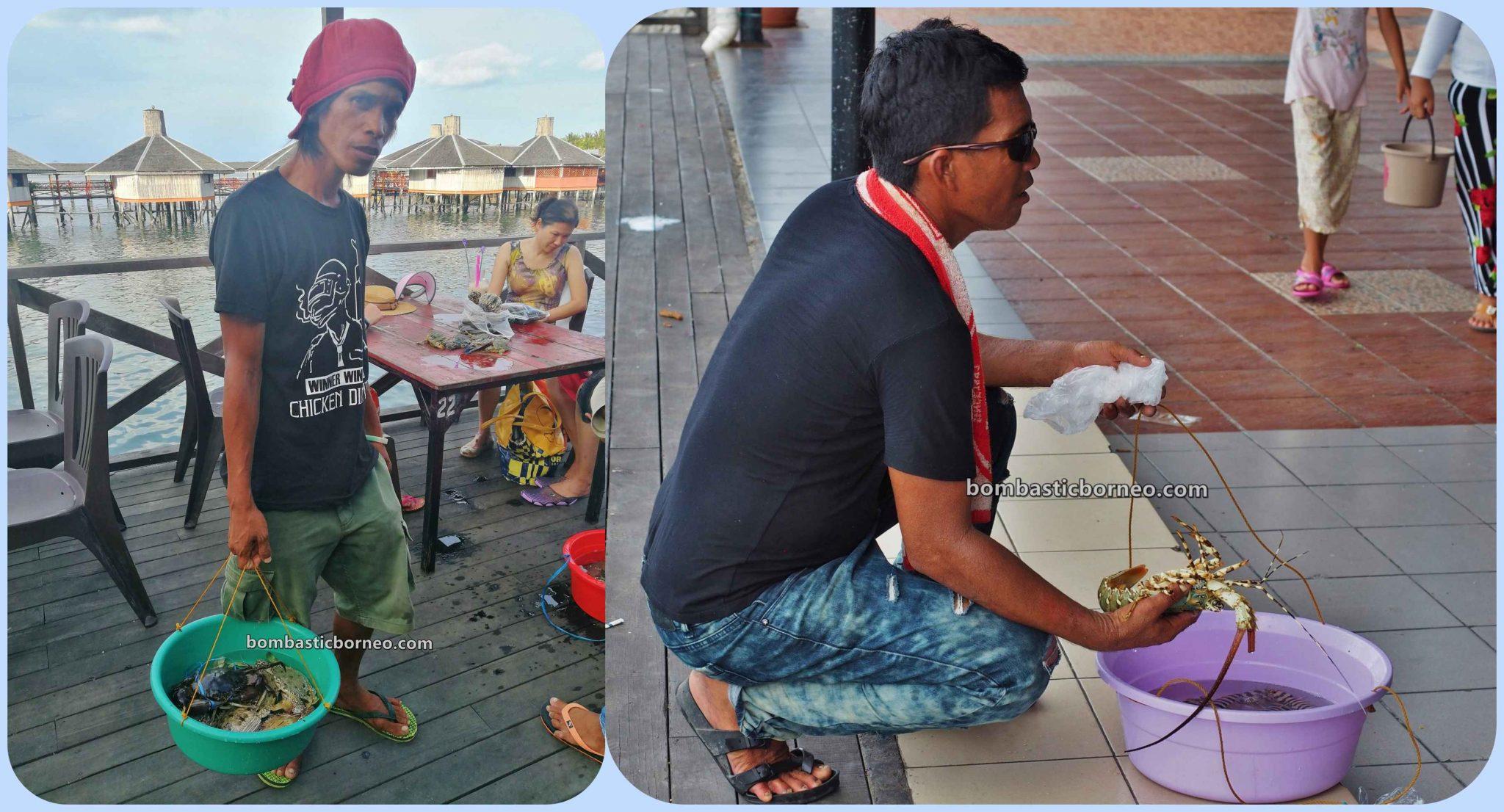 makanan laut, Pesta Regatta Lepa, backpackers, destination, Sea Gypsies, ethnic, Tourism, tourist attraction, travel guide, Cross Border, Borneo, 穿越婆罗洲游踪, 马来西亚沙巴海鲜, 仙本那海吉普赛人