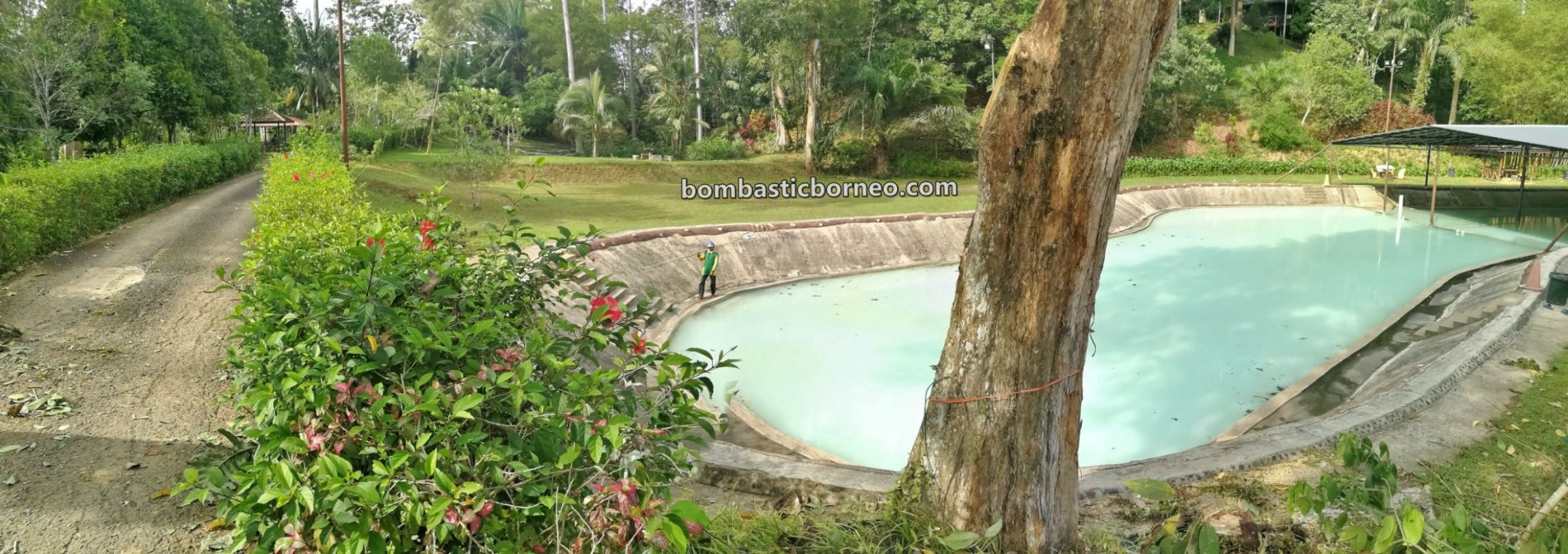 Sankina Hotspring Park, healthy, nature, outdoor, recreational, water park, destination, family holiday, Sabah, Malaysia, Tawau, Tourism, tourist attraction, Travel guide, Trans Borneo,
