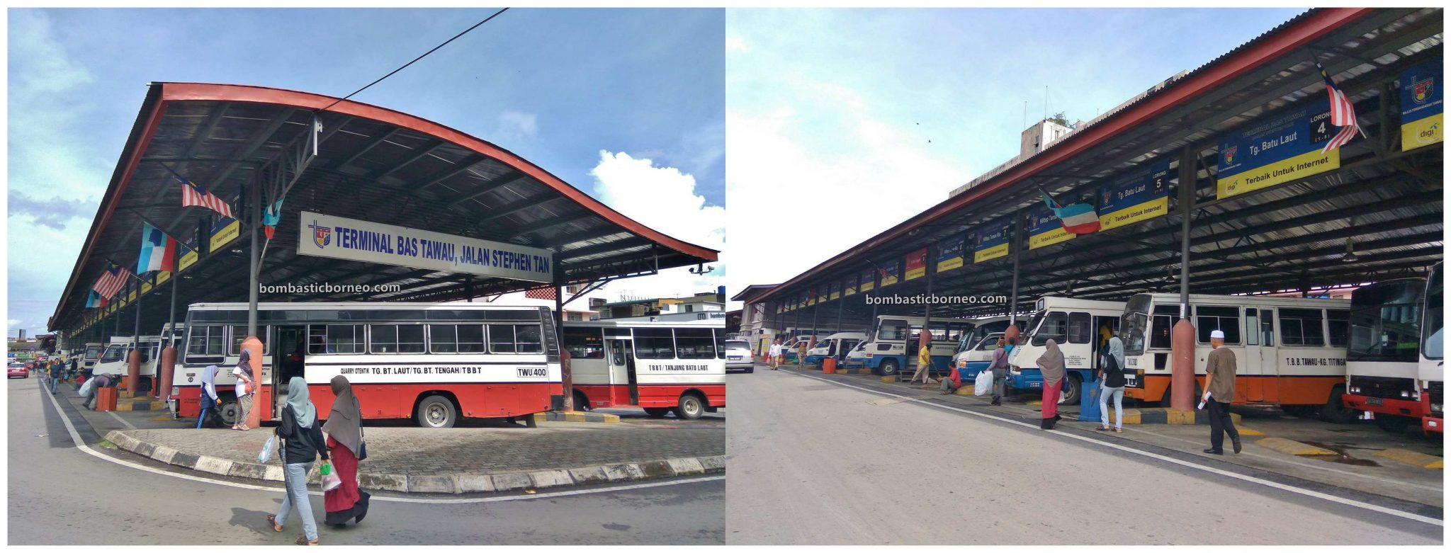 pengangkutan, bus station, backpackers, destination, exploration, Pekan, town, Tanjung Market, Waterfront, Tourism, Cross Border, Borneo, 探索婆罗洲游踪, 马来西亚沙巴斗湖