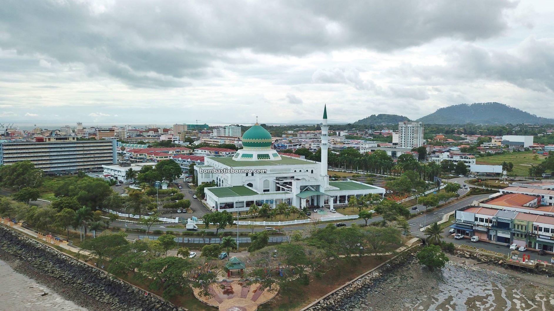 exploration, Pekan, town, Tourism, Trans Border, Borneo, 马来西亚沙巴, 斗湖清真寺