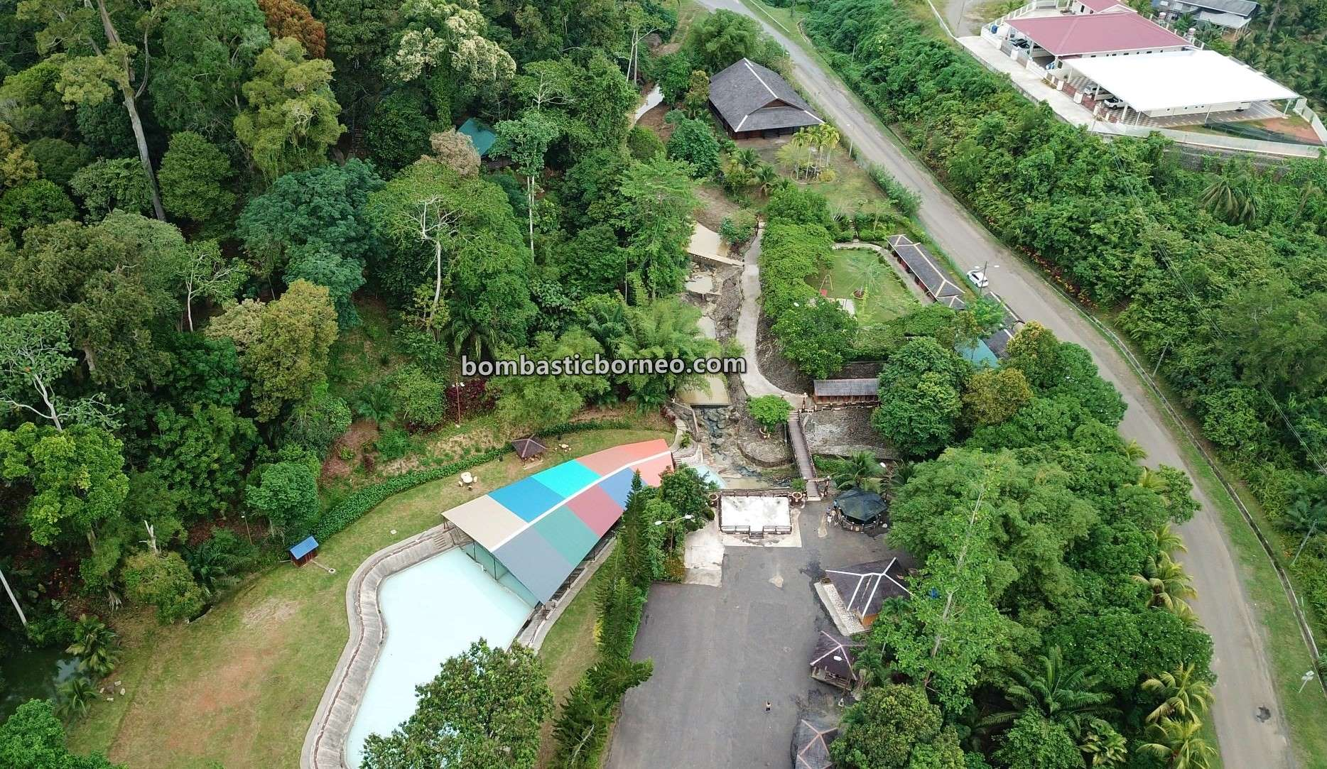 hot spring, healthy, detox, nature, recreational, water park, destination, family vacation, Malaysia, Tourist attraction, Travel guide, Borneo, 探索婆罗洲游踪, 马来西亚沙巴, 斗湖善勤温泉乐园,