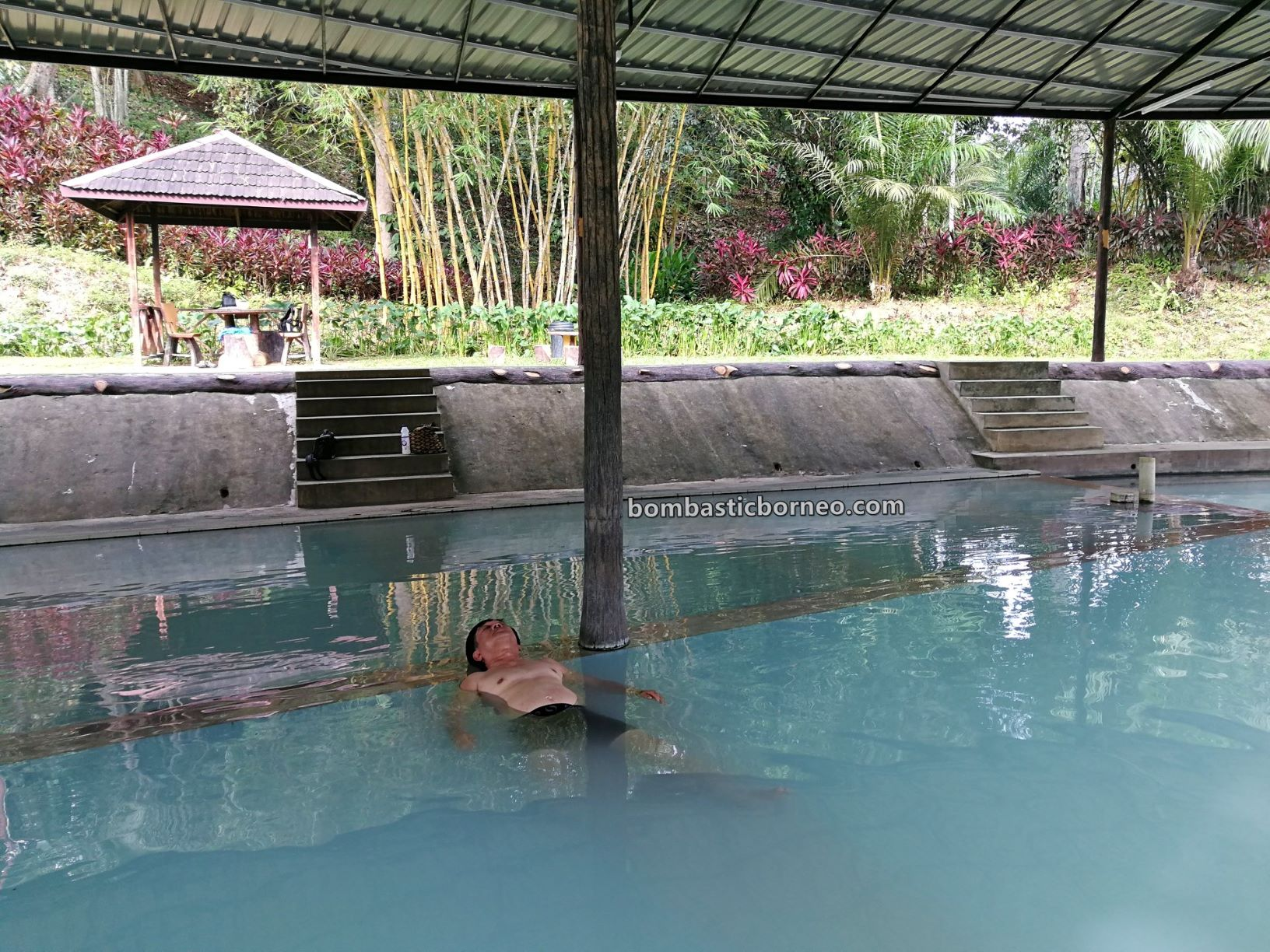 Sankina Hotspring Park, healthy, detox, nature, outdoor, recreational, water park, family vacation, holiday, tourist attraction, Travel guide, Borneo, 穿越婆罗洲沙巴, 善勤温泉乐园, 斗湖旅游景点