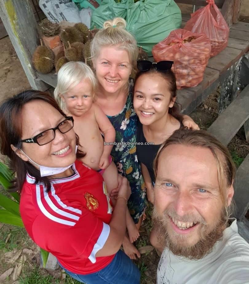 Stay at home, Covid-19, Lock Down, MCO, fruitarian, Russian Family, friendly, warmth, Borneo, Kampung Pengalih, Lawas, Malaysia, Sabatang, Sarawak, village