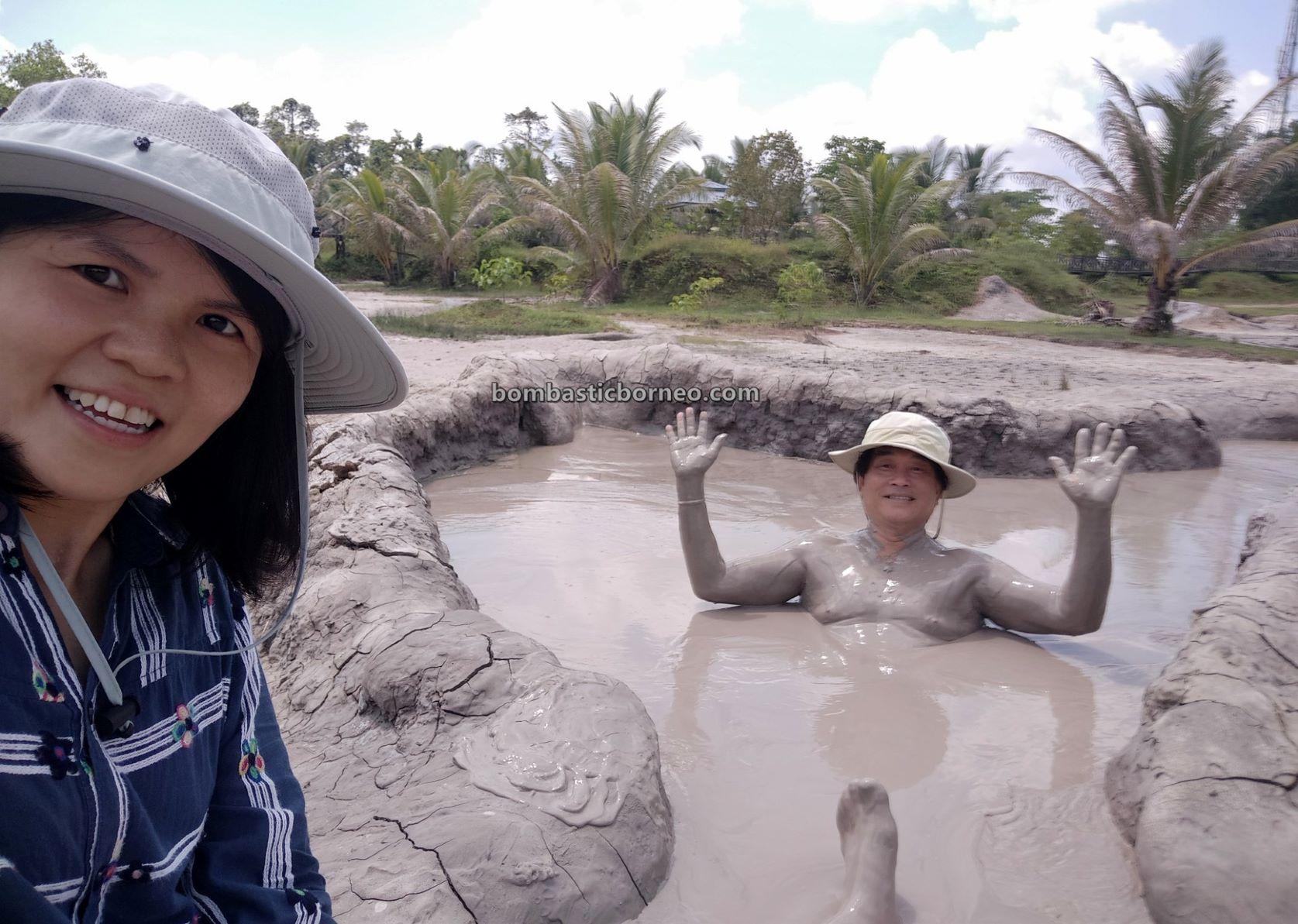Lumpur Bebuak, Mud Volcano, Mud Pools, Spa, Kampung Meritam, adventure, nature, outdoor, Limbang, Sarawak, Malaysia, Tourism, tourist attraction, travel guide, Borneo,
