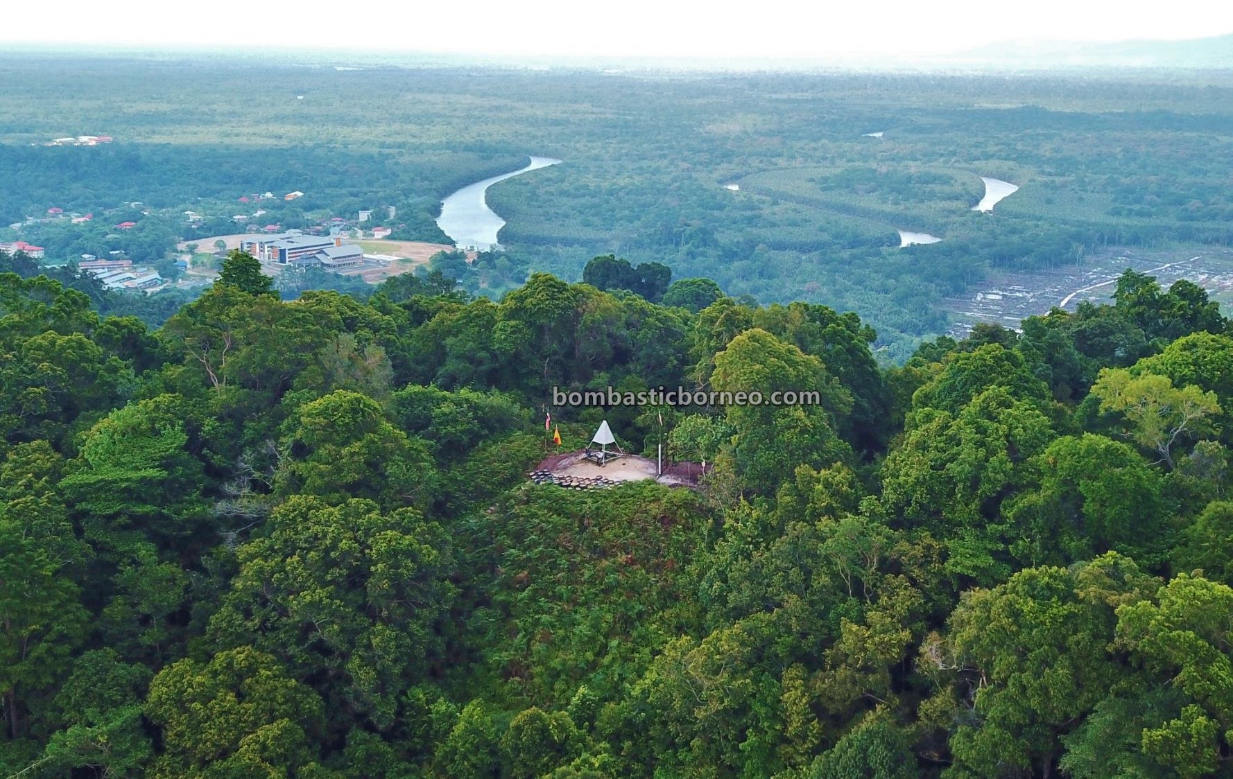 trig point, recreational park, Taman Tasik Bukit Mas, trekking, hiking, nature, destination, exploration, Sarawak, Malaysia, Limbang, Tourism, tourist attraction, tarikan pelancong, Borneo,