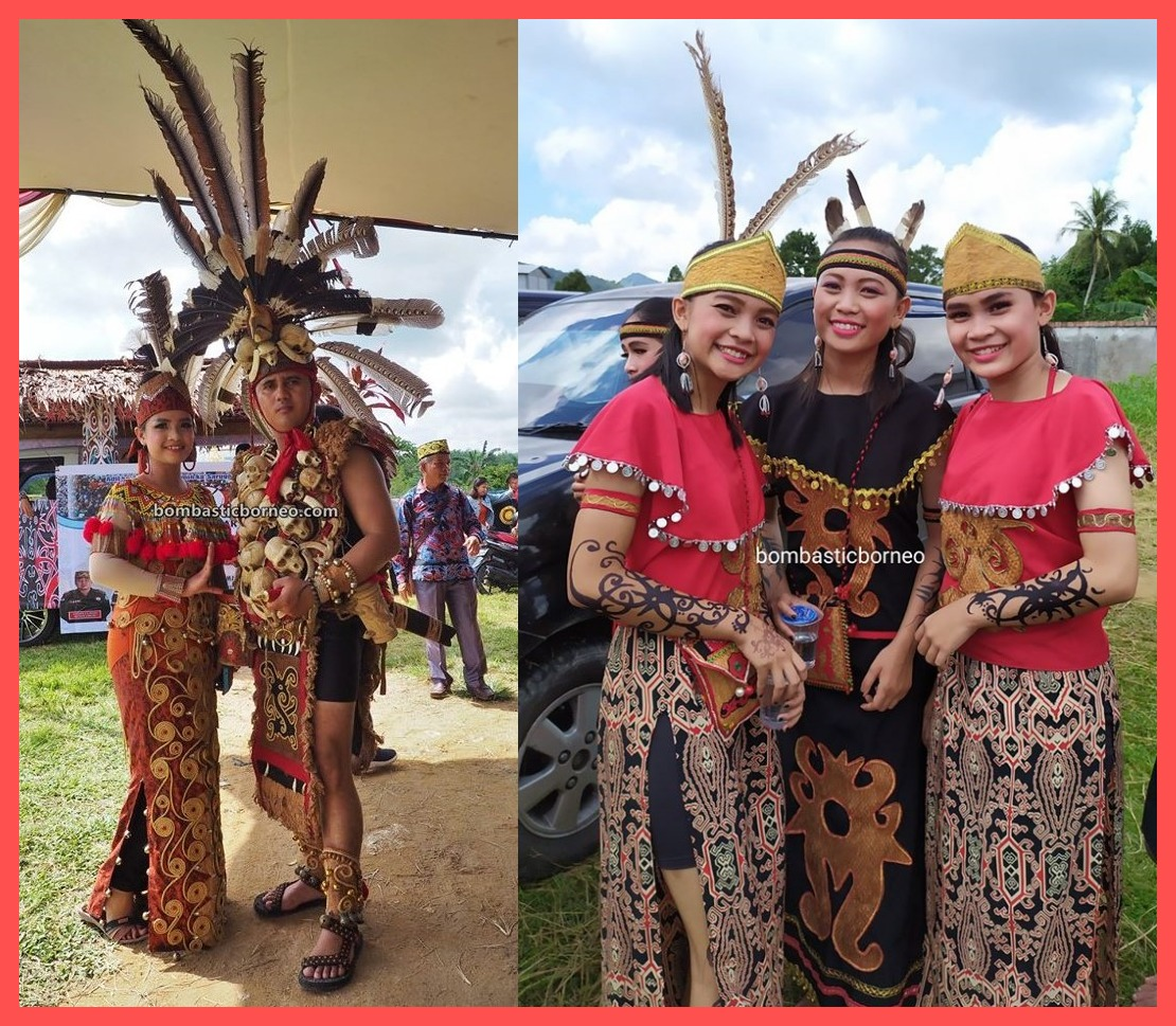 Festival Budaya Dayak, authentic, traditional, culture, Ethnic, native, tribal, backpackers, destination, Obyek wisata, travel guide, Trans Borneo, 婆罗洲西加里曼丹, 印尼孟加映达雅, 原住民传统文化