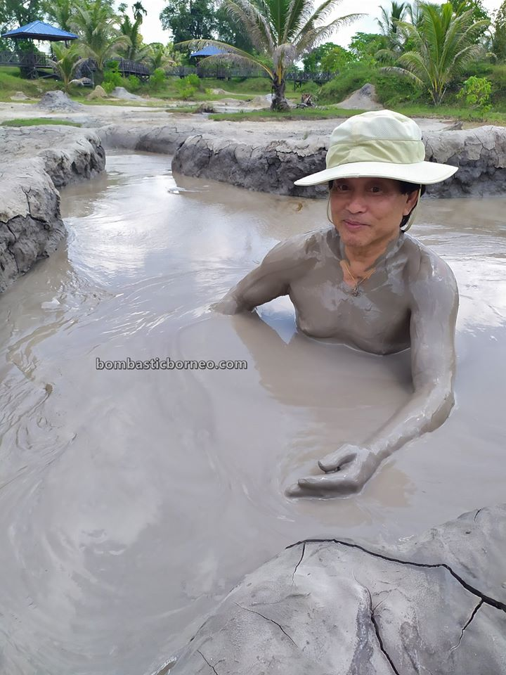 Mud Volcano, Mud Pools, Spa, Kampung Meritam, nature, outdoor, destination, Tarikan Pelancong, exploration, Tourism, tourist attraction, Cross Border, Borneo, 探索婆罗洲砂拉越, 林梦泥火山旅游景点,