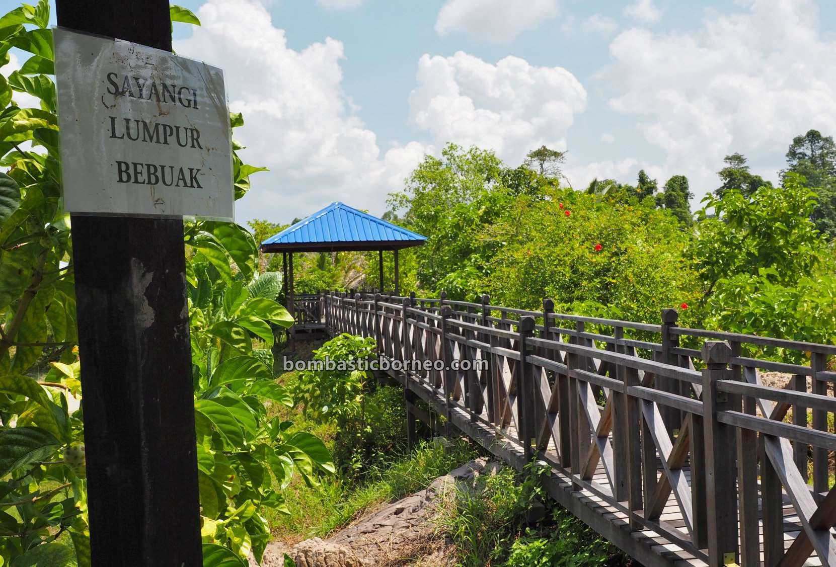Mud Volcano, Mud Pools, Kampung Meritam, Village, destination, adventure, nature, outdoor, Tourism, tourist attraction, travel guide, Trans Border, Borneo, 马来西亚砂拉越林梦, 泥火山旅游景点,