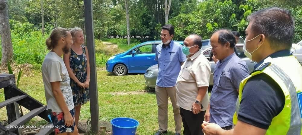 Borneo, Coronavirus, Covid-19, homestay, hospitality, Kampung Pengalih, Lawas, Lock Down, Malaysia, Sabatang, Stay at home, Stay safe, village, 老越俄罗斯家庭, 砂拉越行动管制令,