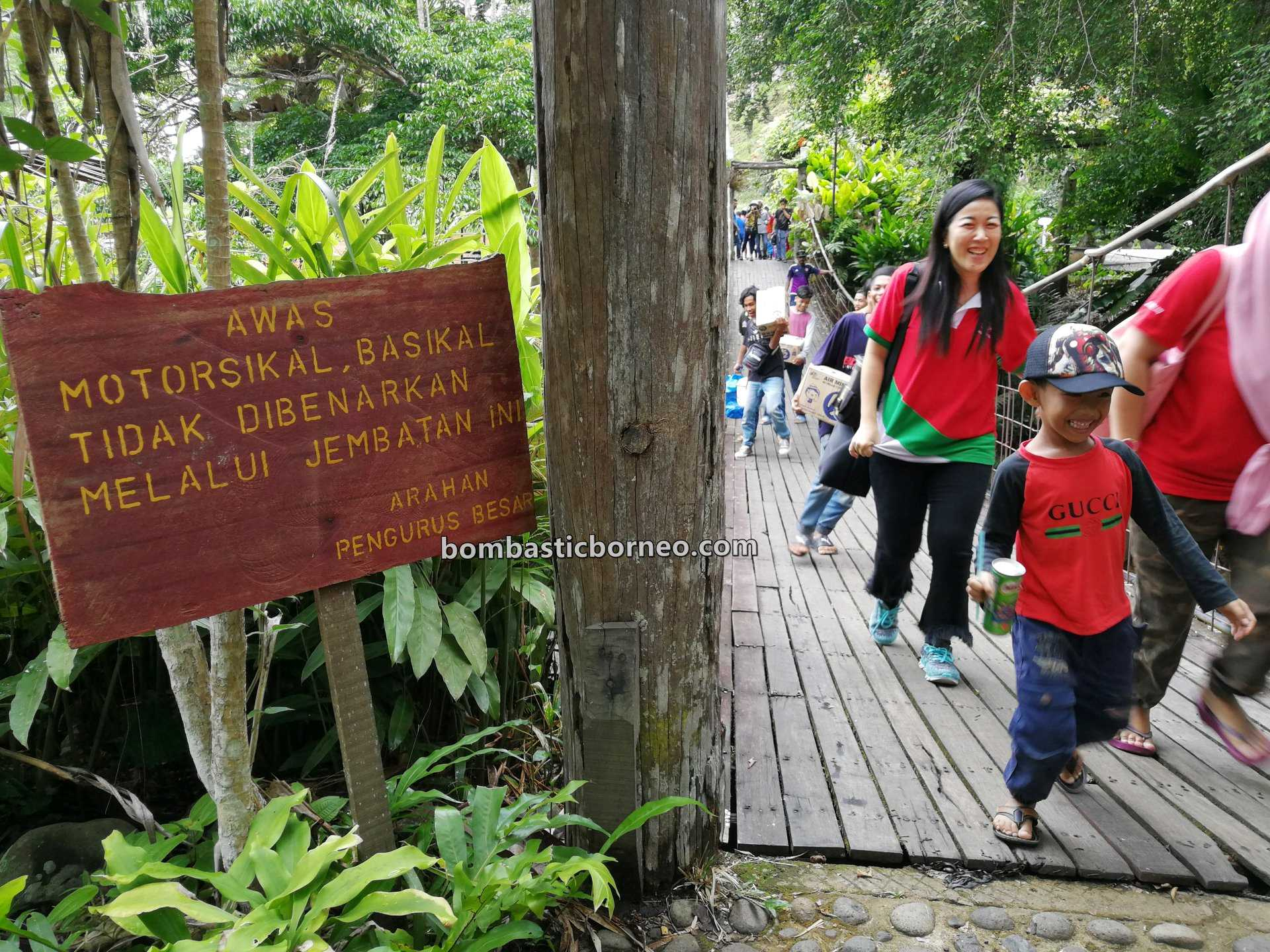 canopy bridge, chalets, lodge, outdoor, backpackers, recreational park, Malaysia, Sabah, tourism, tourist attraction, travel guide, Trans Borneo, 婆罗洲游踪, 马来西亚沙巴, 斗湖生态度假村