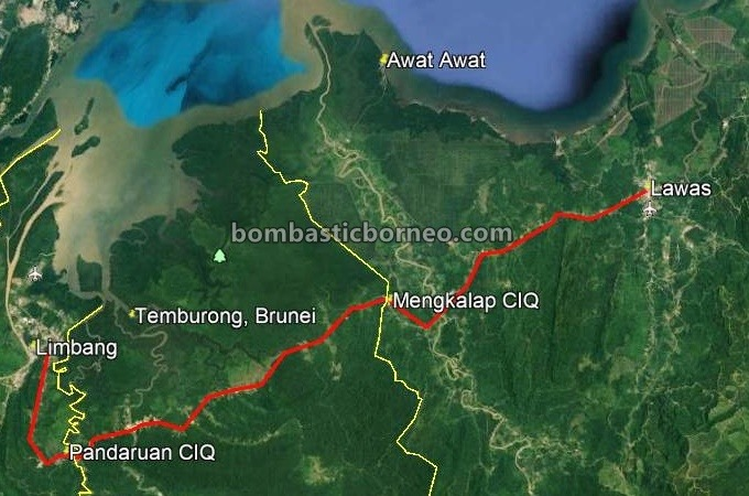 Brunei-Malaysia border checkpoint, Labu Checkpoint, Temburong, Pandaruan CIQ, Mengkalap Immigration Post, Pos Imigresen Malaysia, exploration, Lawas, Limbang, Malaysia, Sarawak, Tourism, travel guide, Trans Border, Borneo,