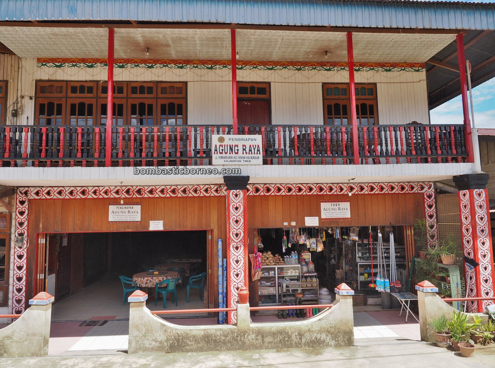 Border town, hotel, Nunukan, backpackers, exploration, Interior, Village, Highlands, native, Tourism, travel guide, Borneo, 穿越婆罗洲游踪, 印尼北加里曼丹, 原住民高原,