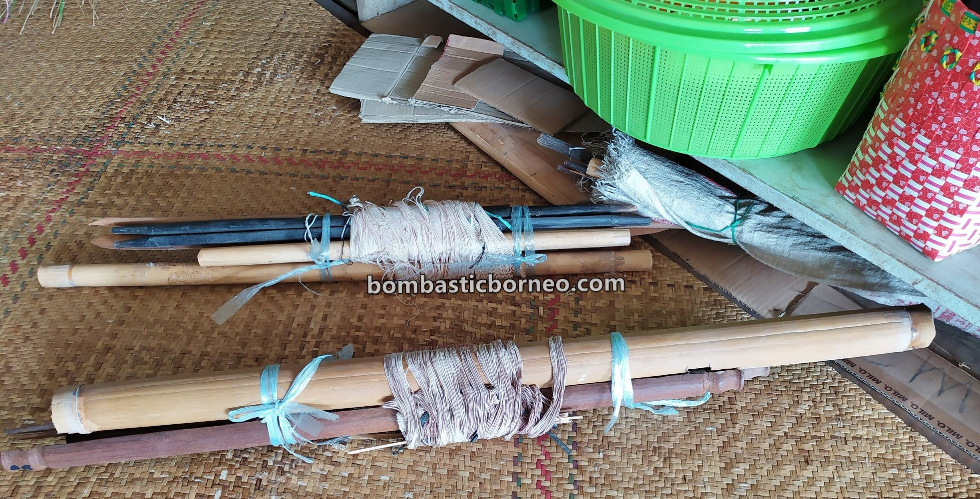 Kerajinan, Crafts, authentic, traditional, Indonesia, North Kalimantan, Nunukan, Interior village, native, tribal, travel guide, Cross Border, Borneo, 婆罗洲北加里曼丹, 弄达耶族手工艺品