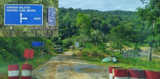 Border Checkpoint, Pos Imigresen Malaysia, Immigration, Krayan, Long Midang, adventure, exploration, Interior Village, Tourism, tourist attraction, travel guide, Trans Borneo, 跨境婆罗洲游踪, 马来西亚砂拉越, 巴卡拉兰边境检查站