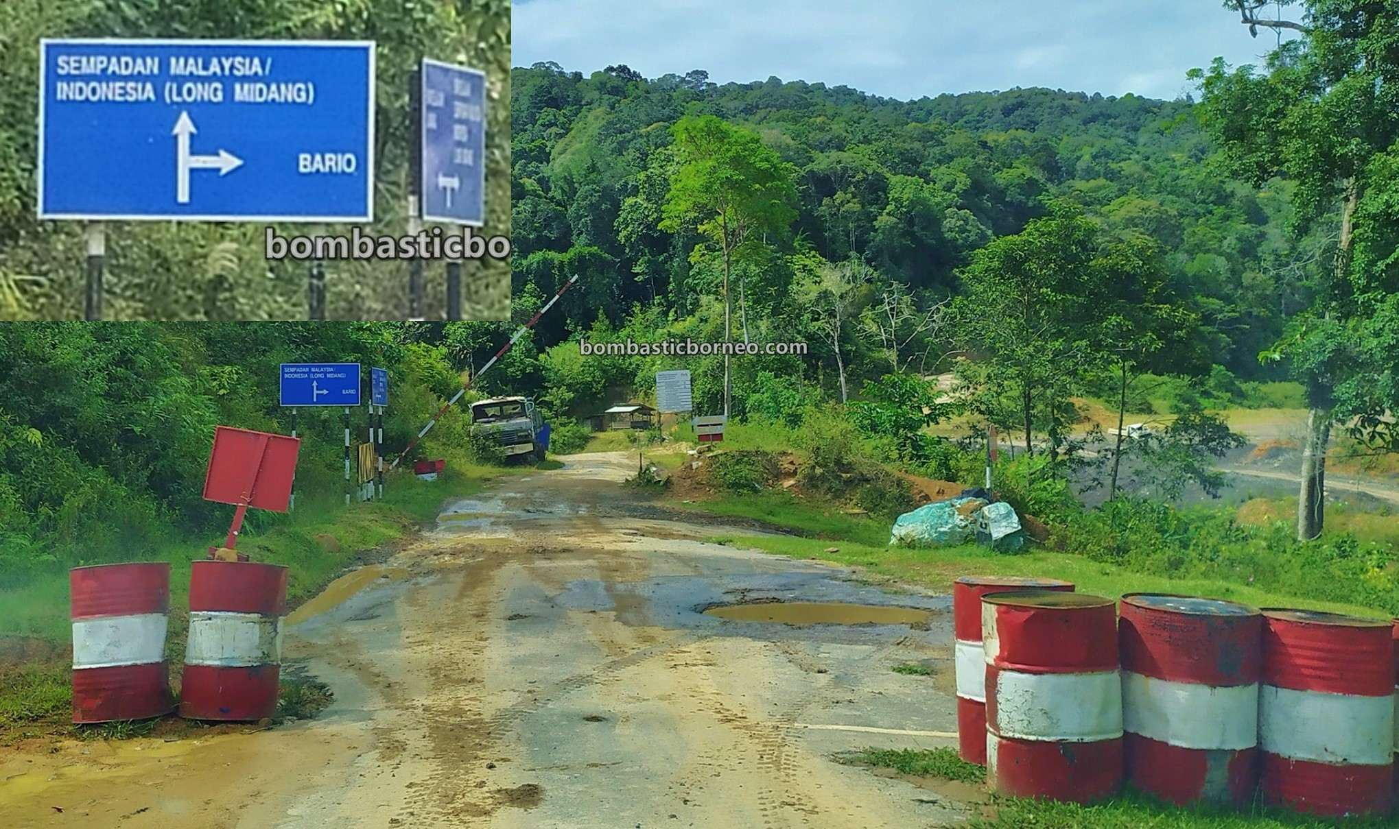Border Checkpoint, Pos Imigresen Malaysia, Immigration, Krayan, Long Midang, adventure, exploration, Interior Village, Tourism, tourist attraction, travel guide, Trans Borneo, 跨境婆罗洲游踪, 马来西亚砂拉越, 巴卡拉兰边境检查站