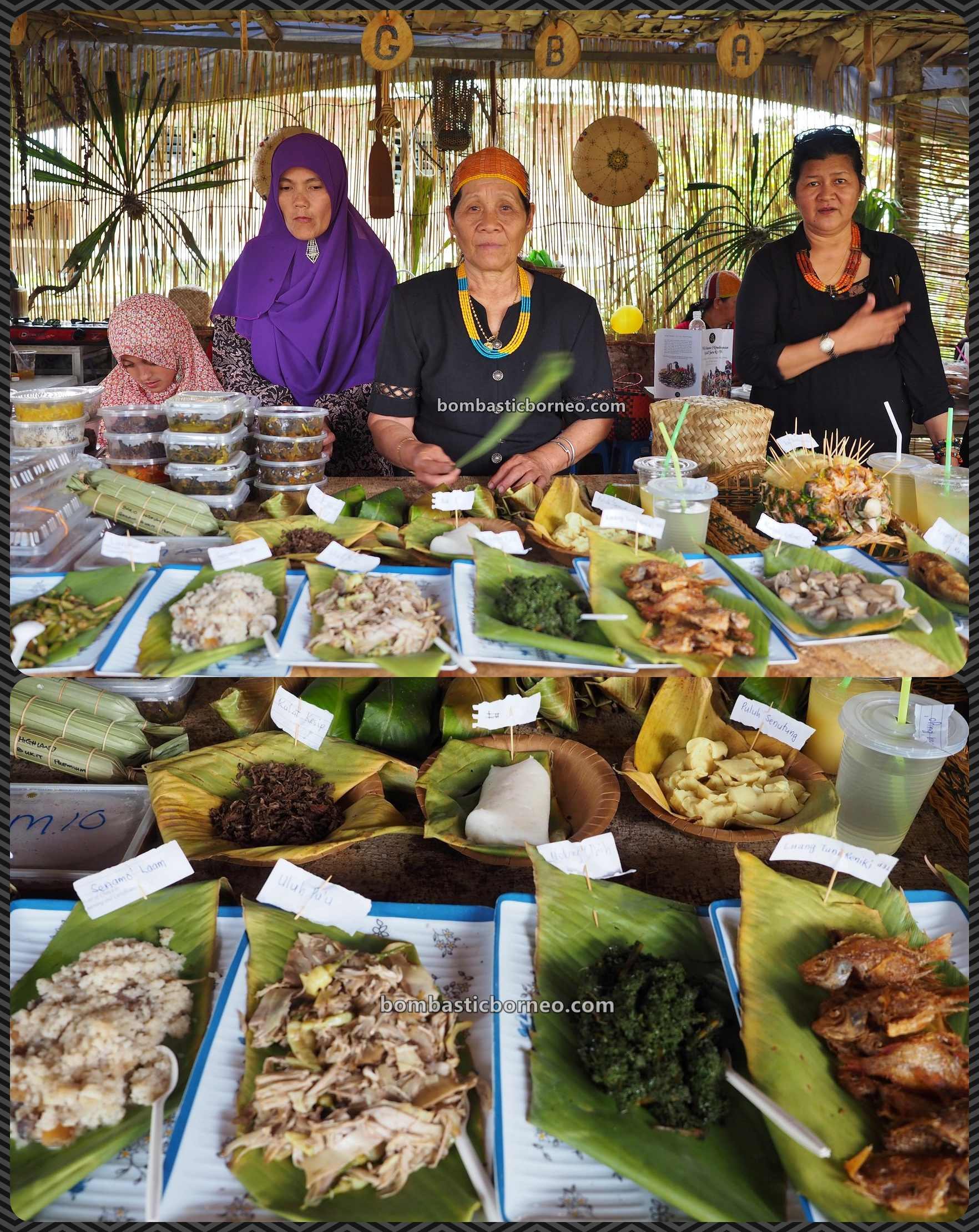 Pesta Nukenen, Bario Food Cultural Festival, crafts, exotic culinary, indigenous, traditional, destination, Interior village, dayak, native, tribe, Kelabit people, Sarawak, Tourism, travel guide,