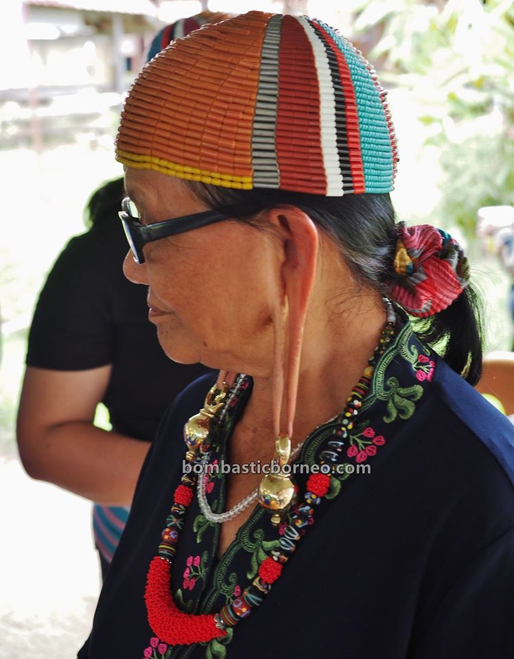Pesta Nukenen, Bario Food Culture Festival, beads, indigenous, destination, Interior village, Dayak, native, orang ulu, Malaysia, Tourism, Trans Borneo, 穿越婆罗洲游踪, 砂拉越原住民文化, 巴里奥加拉毕族长耳垂,