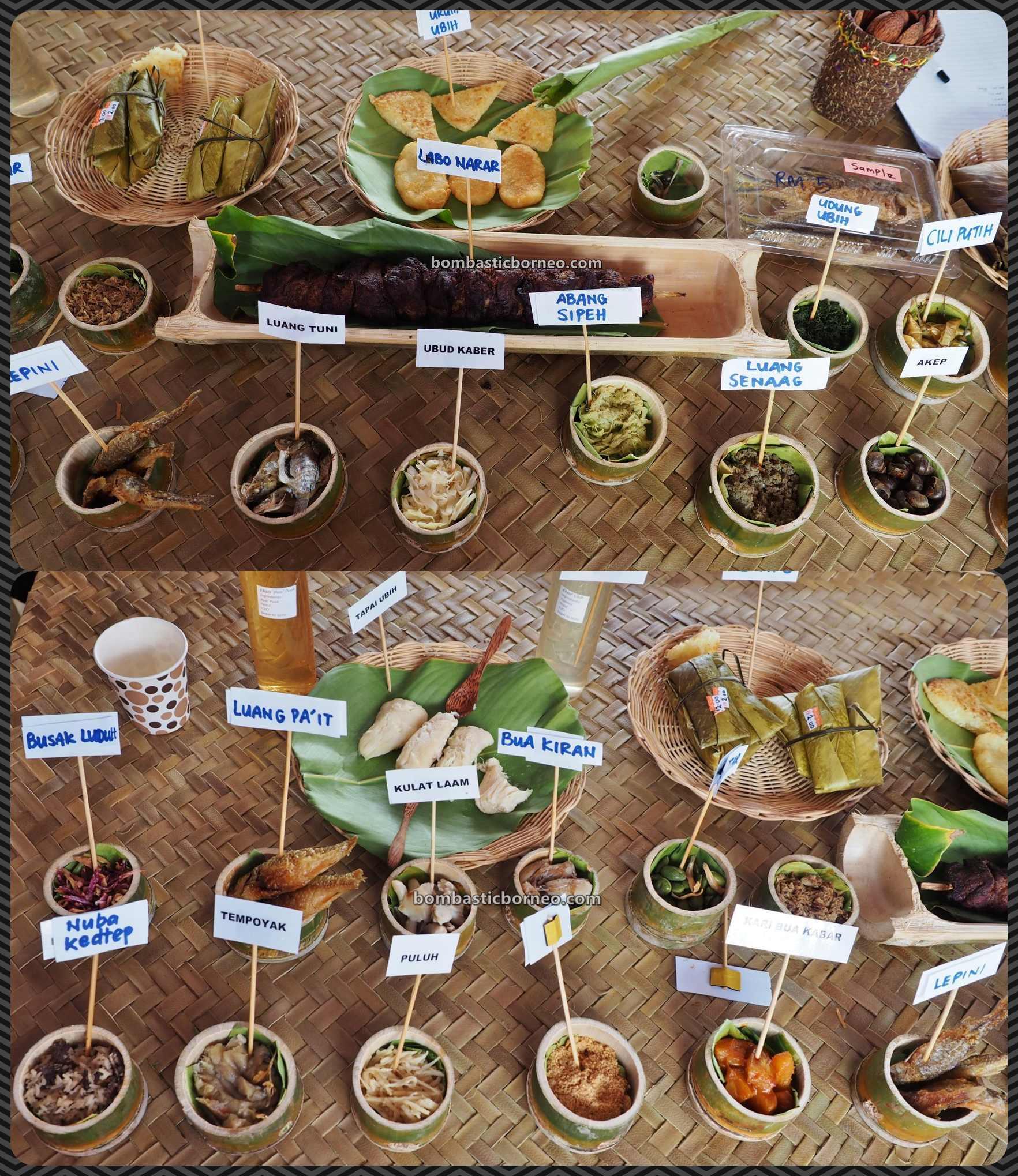 Pesta Nukenen, exotic culinary, authentic, traditional, dayak, native, Orang Ulu, tribal, Kelabit Highlands, Malaysia, travel guide, Trans Borneo, 穿越婆罗洲内陆高原, 马来西亚砂拉越巴里奥, 加拉毕族传统达雅美食