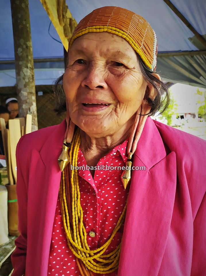 Pesta Nukenen, Bario Highlands, elongated earlobes, interior village, authentic, traditional, Ethnic, native, tribal, Kelabit people, Malaysia, travel, 婆罗洲达雅文化, 砂拉越巴里奥原住民, 加拉毕族长耳垂,