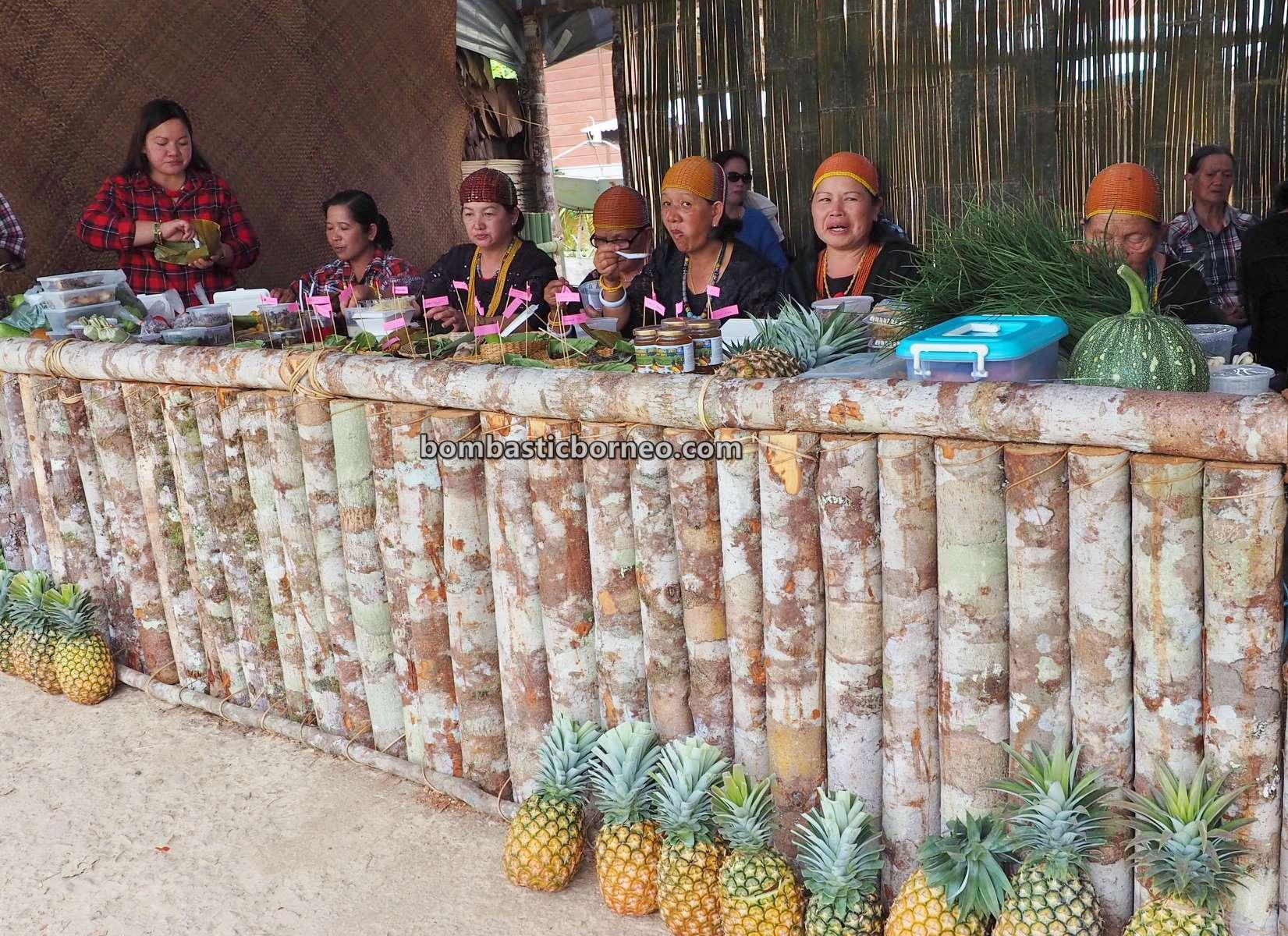 Bario Food Cultural Festival, crafts, exotic culinary, authentic, indigenous, dayak, native, tribe, orang ulu, Malaysia, travel, Borneo, 砂拉越美食旅游景点, 巴里奥乌鲁人部落, 婆罗洲加拉毕族传统文化,