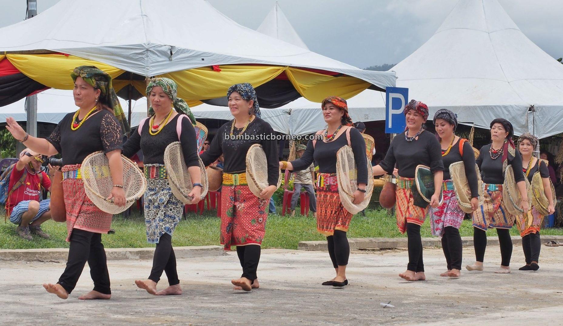 Bario Food Cultural Festival, traditional dance, event, authentic, indigenous, Dayak Kelabit, native, Orang Ulu, tribal, Kelabit Highlands, Tourism, Borneo, 婆罗洲达雅文化, 巴里奥加拉毕族舞蹈, 乌鲁人土著部落,