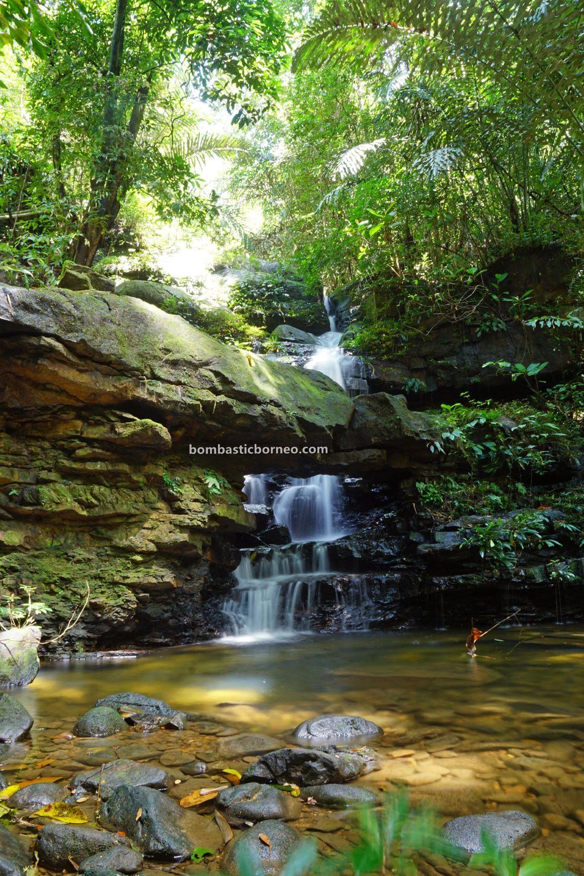 Air Terjun Satow, waterfall, Kampung Bobak, adventure, nature, trekking, destination, Bau, Kuching, Sarawak, Malaysia, tarikan pelancong, Tourism, travel local, Trans Borneo