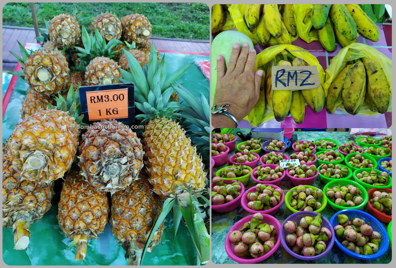 backpackers, Destination, exploration, Pasar tamu, traditional, local market, native market, fruits, Marudi, Malaysia, Sarawak, Tourism, tourist attraction, travel guide, Borneo