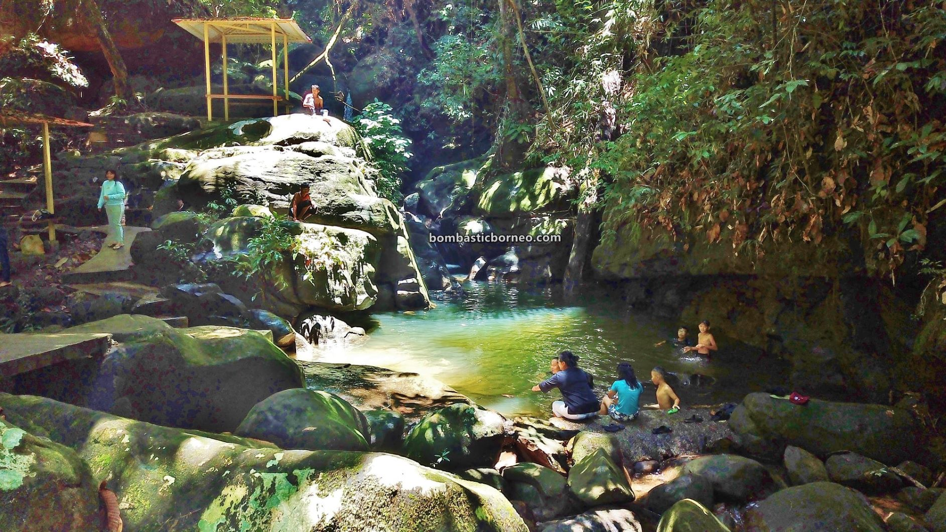 Air Terjun, Satow waterfall, Bobak village, nature, outdoor, destination, picnic, Singai, Kuching, Sarawak, Bau, tarikan pelancong, Tourist attraction, travel local, Borneo