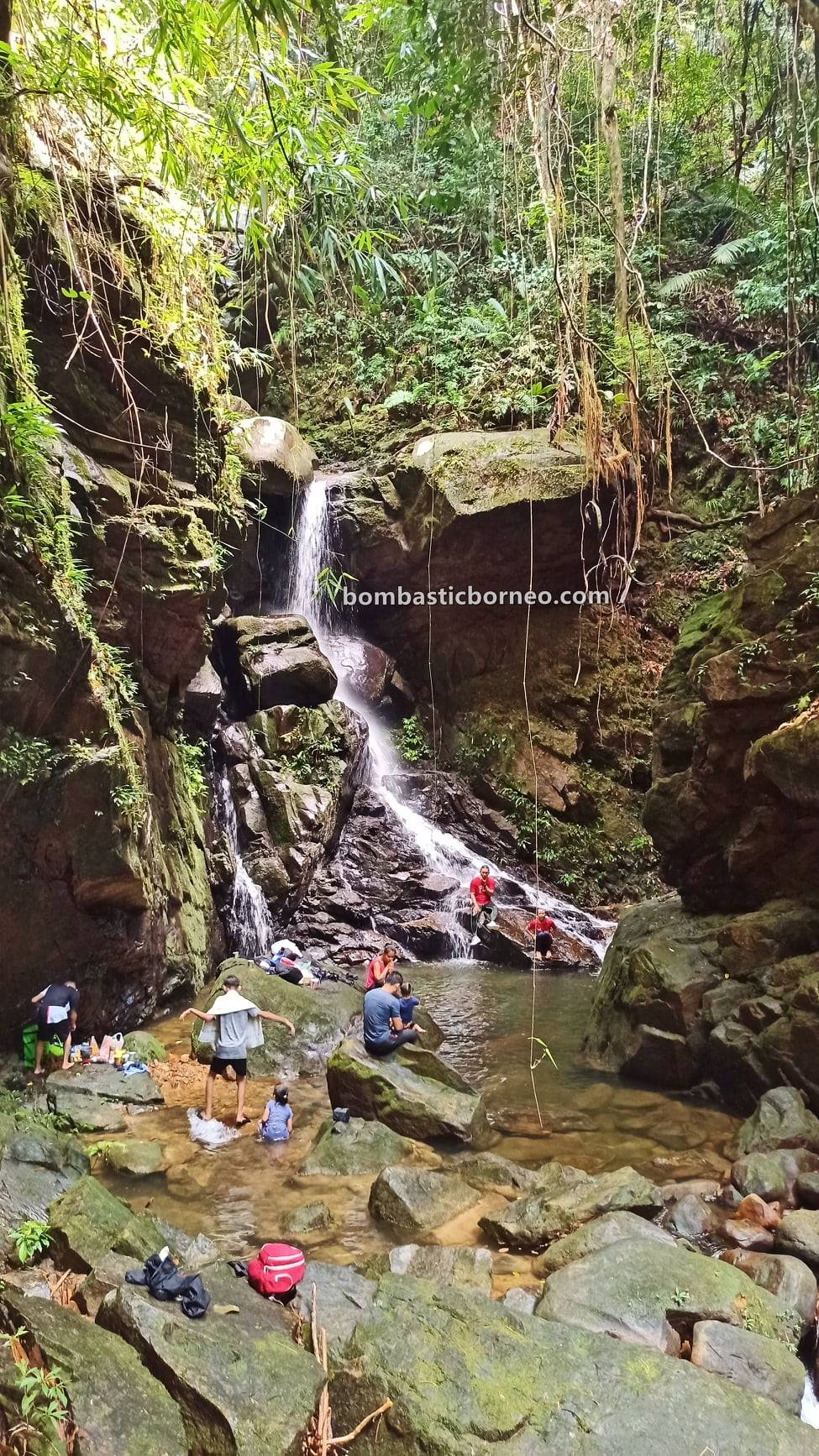 Satow waterfall, Kampung Bobak, nature, outdoor, trekking, picnic, Bau, Singai, Kuching, Malaysia, Tourism, travel local, Trans Borneo, 砂拉越古晋石隆门, 瀑布旅游景点