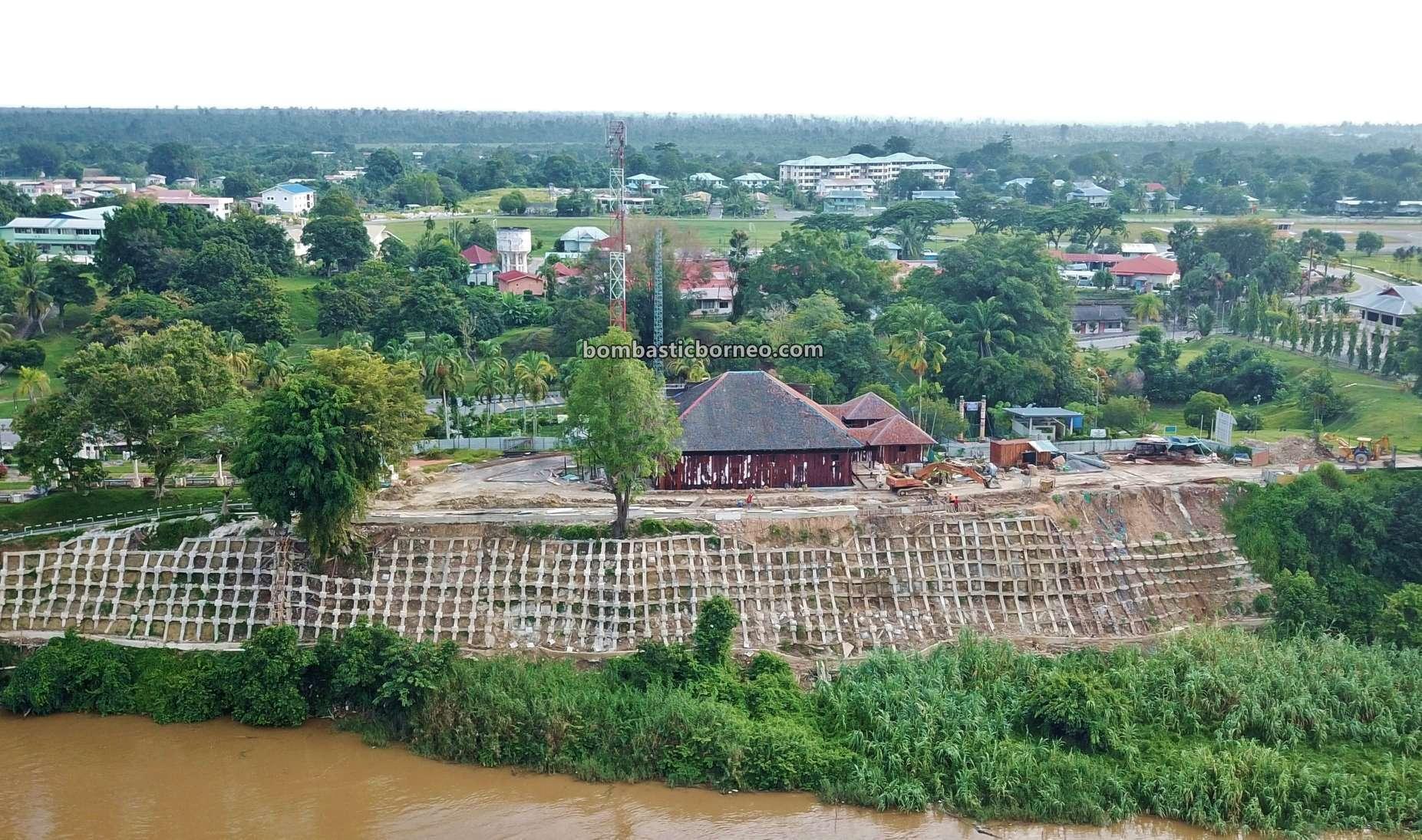 backpackers, Destination, exploration, museum, Sungai Baram, river, Miri, town, Tourism, tourist attraction, travel guide, Trans Borneo, 马来西亚砂拉越, 马鲁帝博物院