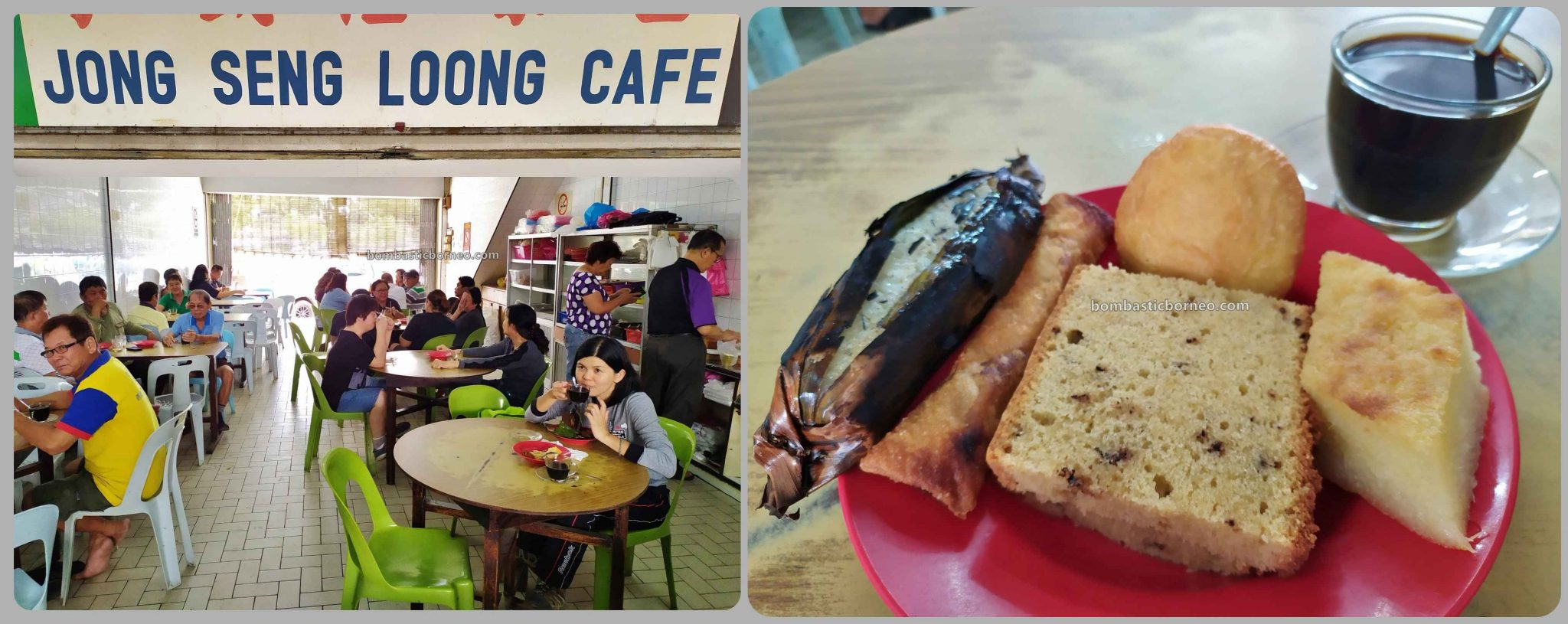 snacks, backpackers, Destination, exploration, traditional, local cakes, Miri, Malaysia, town, tourist attraction, Borneo, 穿越婆罗洲砂拉越, 马鲁帝早市,
