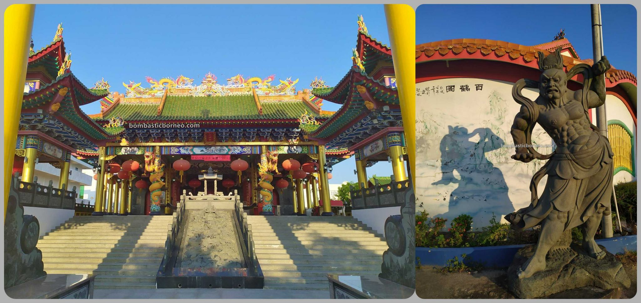 Hai Long Si Temple, backpackers, destination, Taoist Temple, Discover Miri City, exploration, Tourism, travel guide, Borneo, 穿越婆罗洲马来西亚, 砂拉越旅游景点, 美里海龙寺斗姆宫,