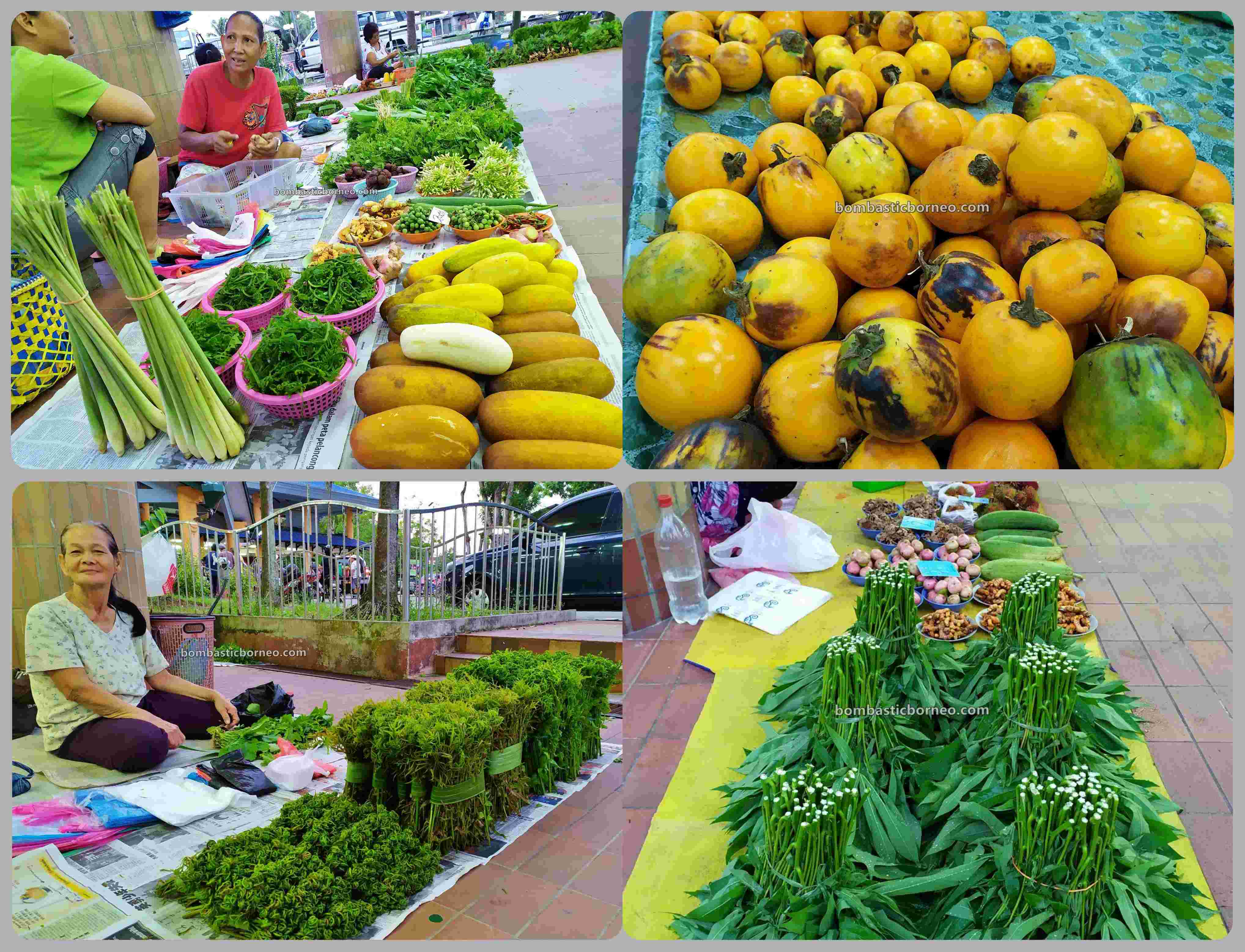vegetable, fruits, exploration, traditional, local market, native market, town, Tourism, tourist attraction, travel guide, Cross Border, Borneo, 探索马来西亚砂拉越, 美里马鲁帝早市,