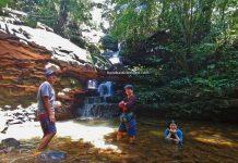 Air Terjun, Kampung Bobak, adventure, nature, outdoor, trekking, Singai, Malaysia, tarikan pelancong, Tourism, travel local, Trans Borneo, 探索婆罗洲游踪, 马来西亚砂拉越, 古晋瀑布旅游景点