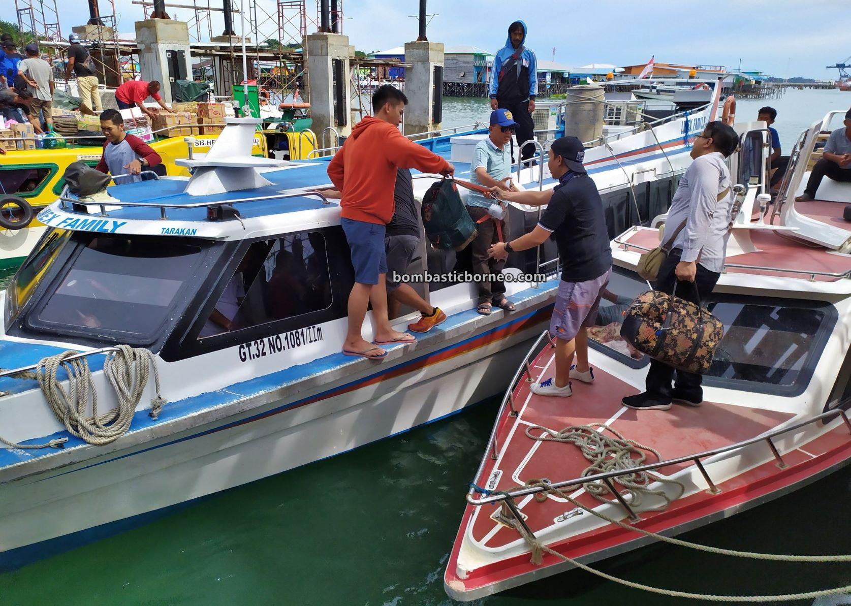 Express Boat ride, adventure, speed boat, backpackers, exploration, Indonesia, North Kalimantan, Kaltara, Kota Tarakan, Pulau Derawan, Pelabuhan Tengkayu, Pariwisata, Tourism, travel guide, Borneo