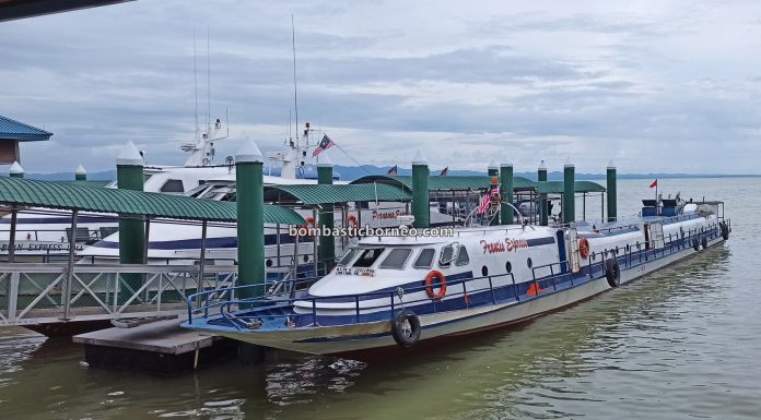 Ferry terminal, Express Boat Ride, speed boat, exploration, International, Kapal Besar, MV Tawindo, port, Sabah, Tawau, Malaysia, Transportation, travel guide, Cross Border, Borneo,