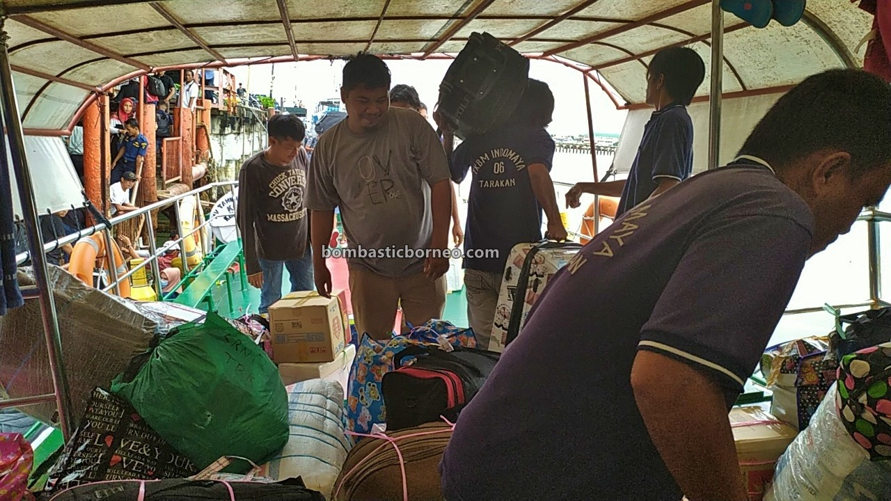Ferry terminal, exploration, Indonesia, Kaltara, Kapal Besar, Kota Tarakan, MV Tawindo, Pelabuhan Malundung, port, Tourism, Transportation, Cross Border, Borneo, 探索婆罗洲印尼游踪, 北加里曼丹打拉根岛