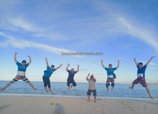 Pulau Pasir Putih, backpackers, destination, exploration, nature, outdoors, vacation, Berau, Kalimantan Timur, Pariwisata, Tourism, travel guide, Borneo, 印尼东加里曼丹, 婆罗洲潜水天堂,