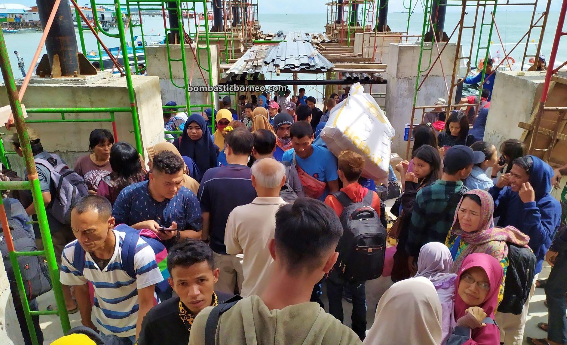 FAM Trip, speedboat, Express Boat ride, adventure, backpackers, destination, exploration, Kalimantan Utara, Pariwisata, Tourism, Trans Border, Borneo, 穿越婆罗洲游踪, 印尼北加里曼丹, 打拉根轮渡码头