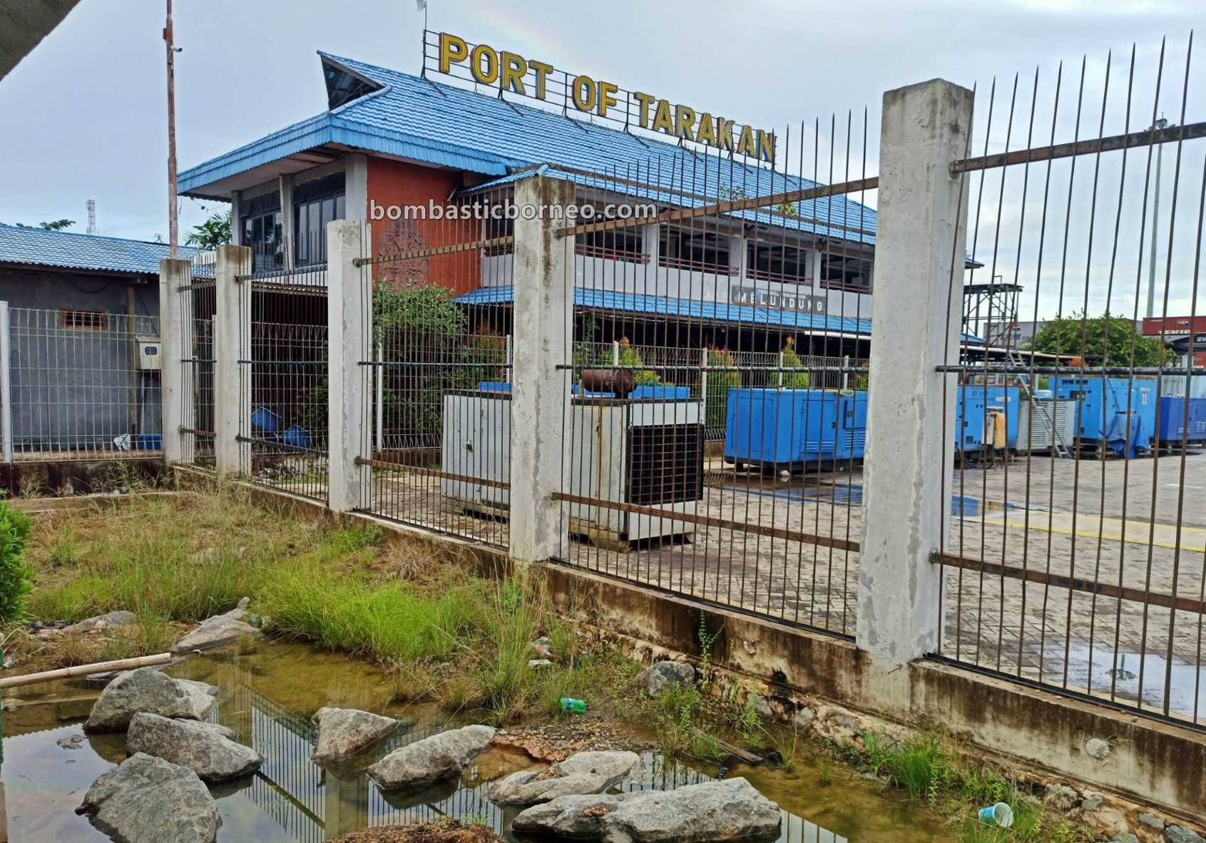 speed boat, Ferry terminal, Express Boat Ride, backpackers, international, Kaltara, Kapal Besar, MV Tawindo, Pelabuhan Malundung, wharf, Tourism, Transportation, Border crossing, 跨境婆罗洲北加里曼丹, 印尼打拉根岛