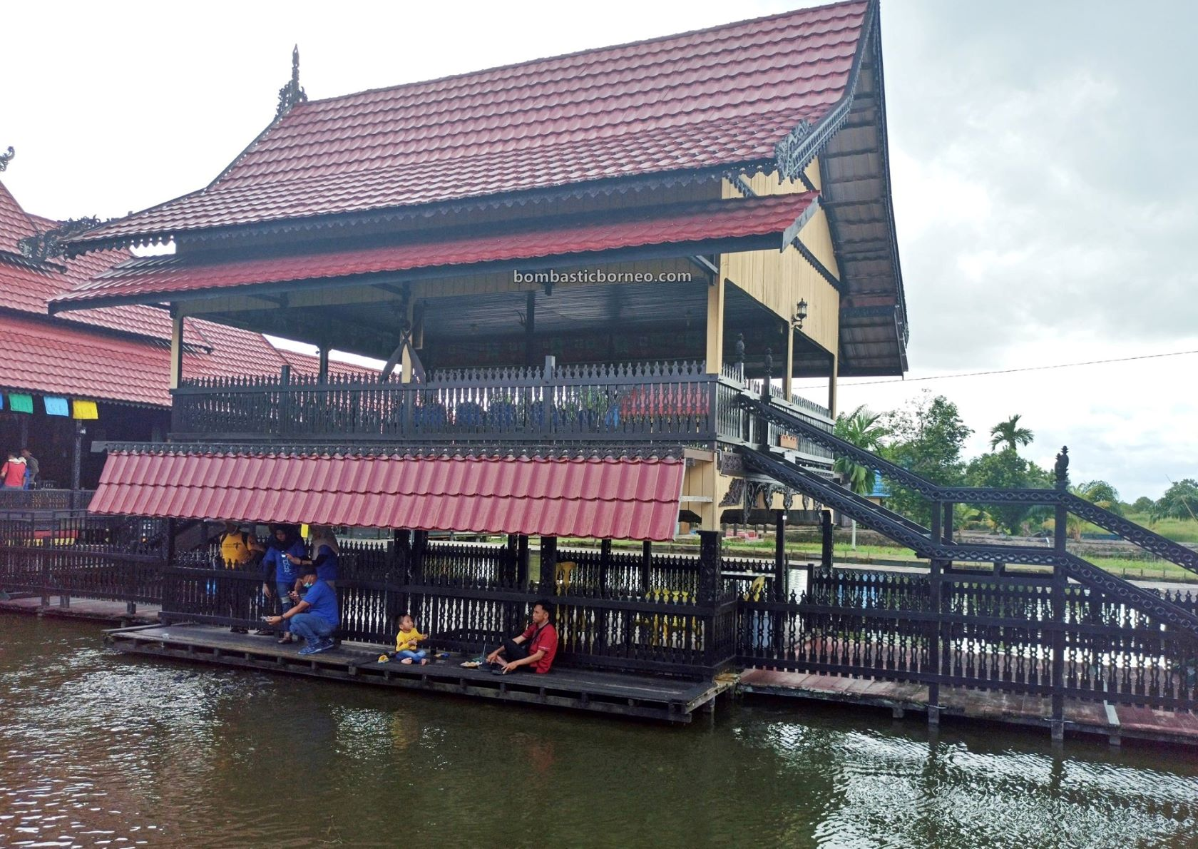 Rumah Baloy Mayo, Tidung house, Cultural Centre, authentic, traditional, native, backpackers, destination, Indonesia, Kalimantan Utara, Tarakan, Pariwisata, Tourist attraction, travel guide, Borneo,