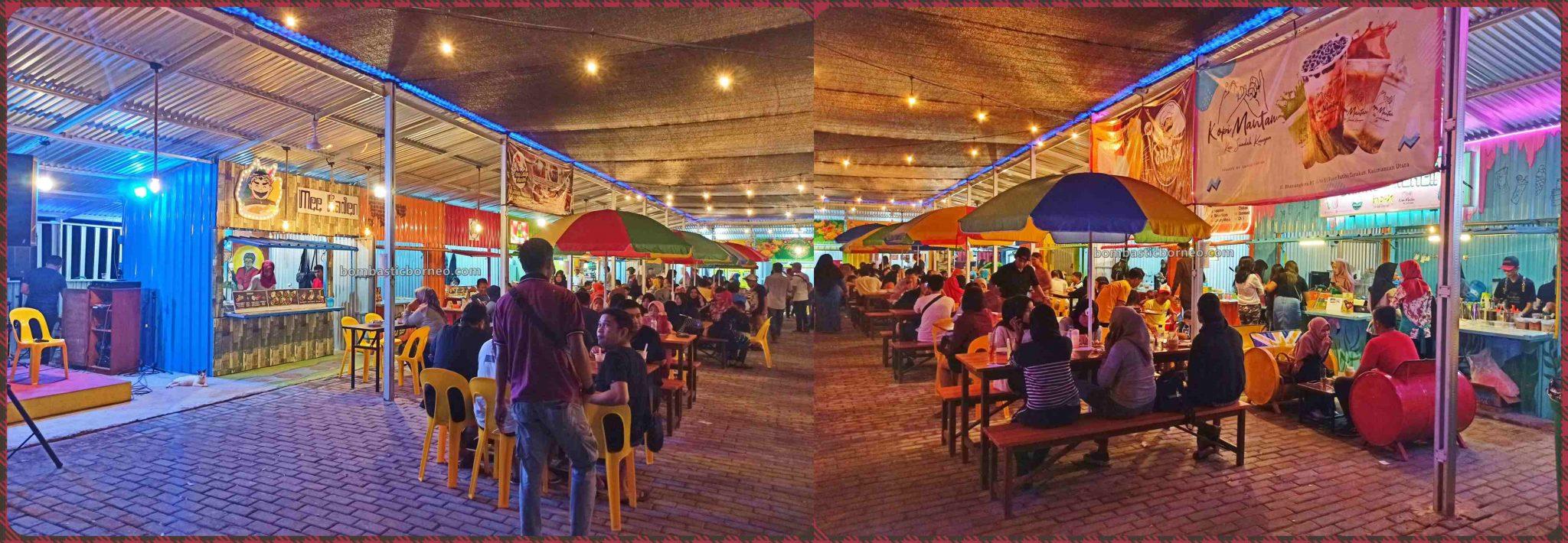 backpackers, destination, exploration, Obyek wisata, Tourism, Kaltara, Food Court, Cross Border, Borneo, 印尼北加里曼丹, 打拉根岛旅游景点,