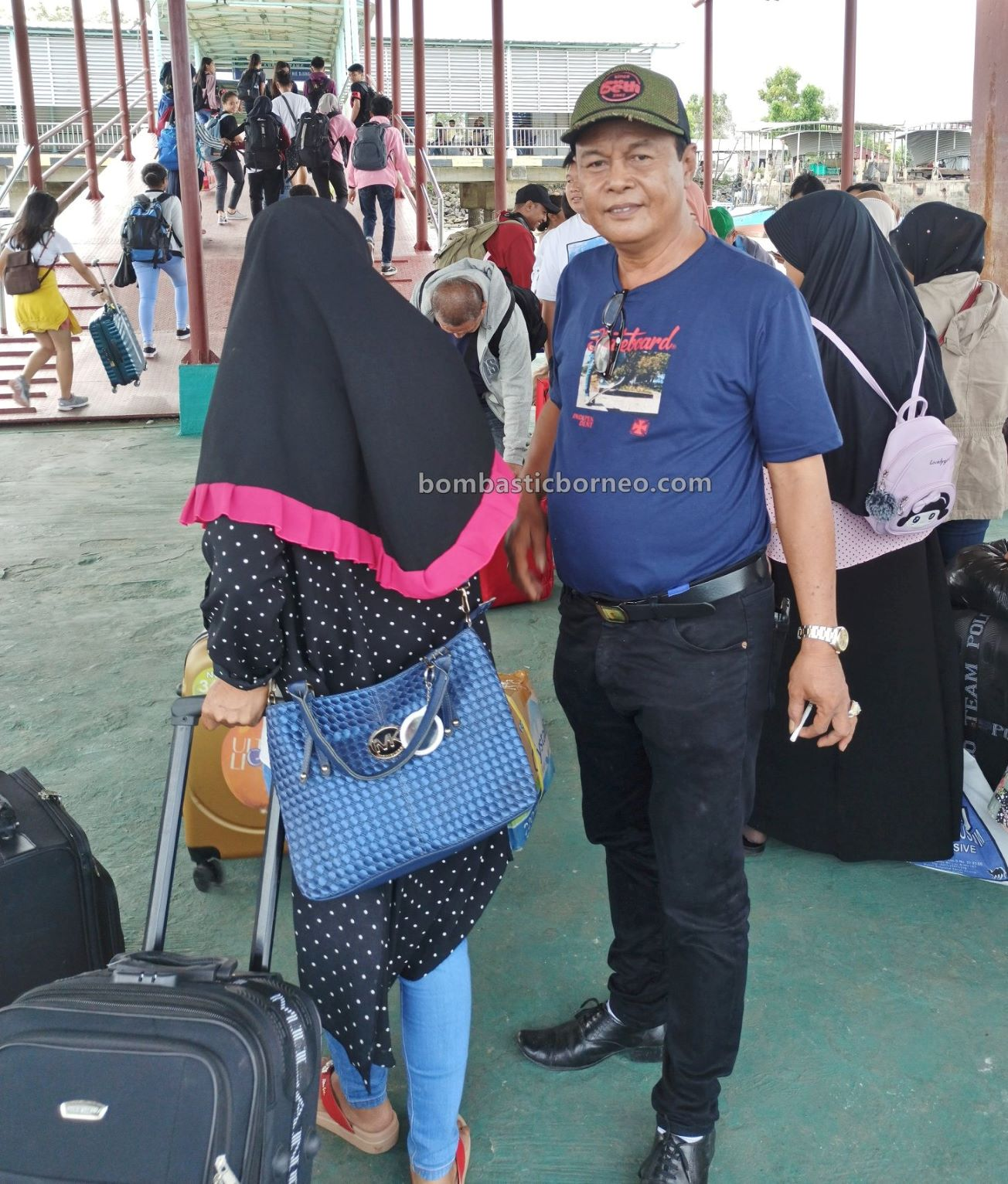 fam trip Kaltara, express boat, Boat ride, Kapal Besar, Transportation, Tawau, backpackers, destination, exploration, objek wisata, travel guide, Trans Border, ferry terminal, Borneo