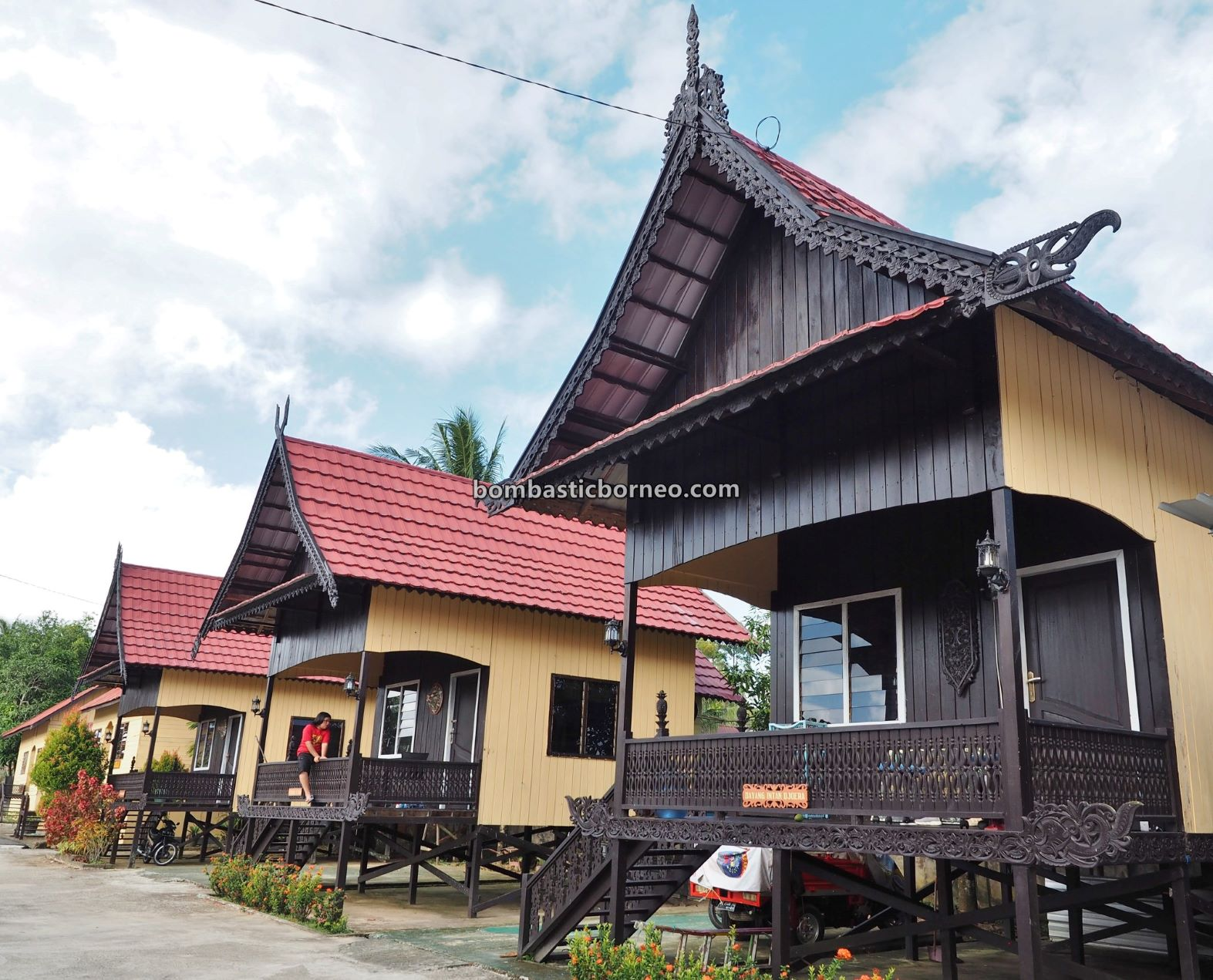 Rumah Baloy Mayo Adat Tidung, Heritage Centre, culture, authentic, traditional, native, backpackers, destination, Pariwisata, Tourist attraction, travel guide, Trans Border, Borneo, 印尼北加里曼丹, 打拉根岛旅游景点