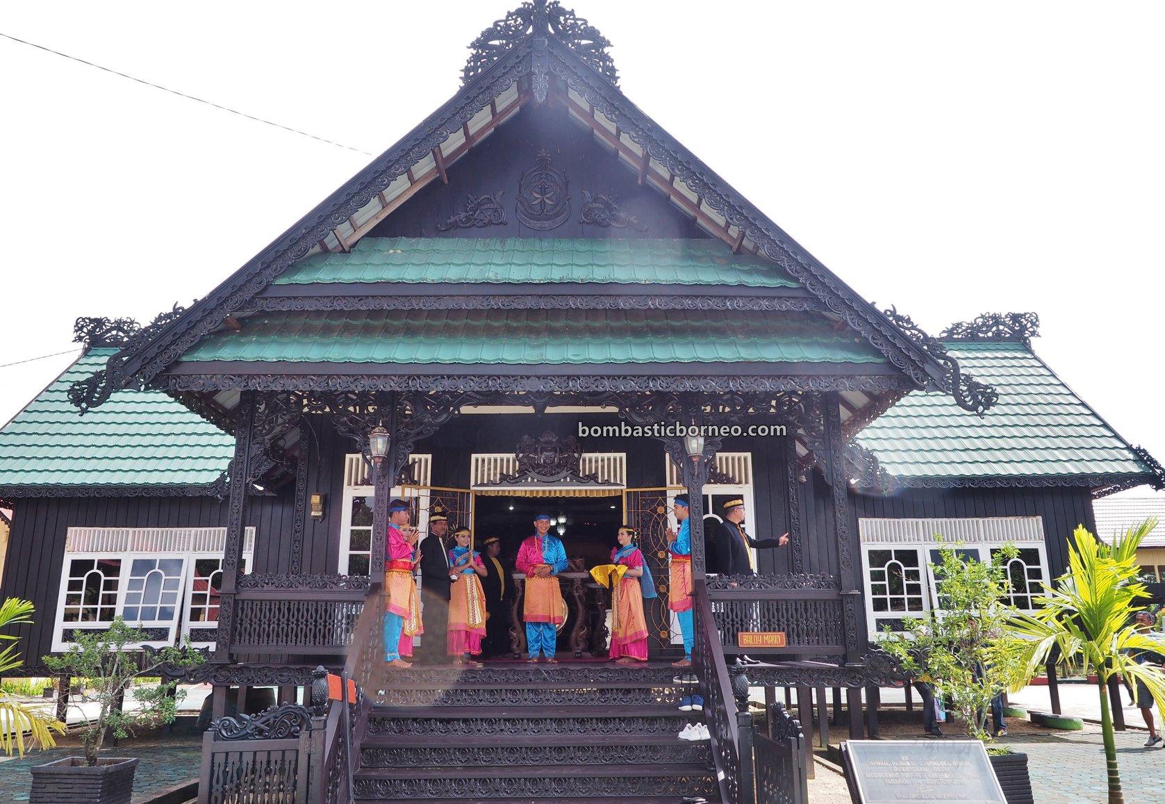 Cultural Centre, museum, authentic, traditional, native, tribal, Indonesia, Kalimantan Utara, Pariwisata, Tourist attraction, travel guide, Trans Borneo, 印尼北加里曼丹, 打拉根岛旅游景点, 原住民达雅文化