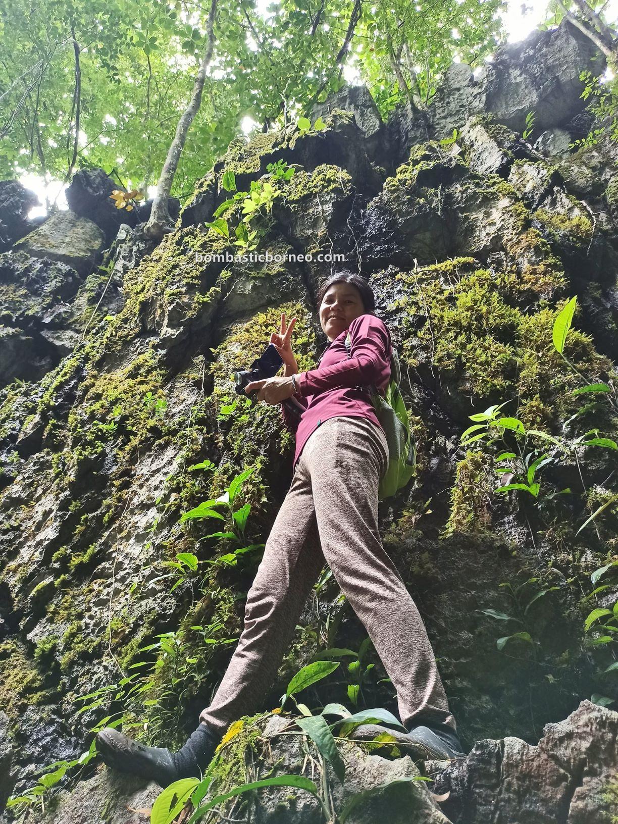 Bung Mawang, Kampung Serumah, Gayu village, jungle trekking, hiking, Kuching, Tourism, tourist attraction, travel local, limestone ravine, Tiang Badak, Borneo, 探索婆罗洲游踪, 砂拉越古晋, 马来西亚自然生态