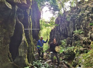 Kampung Serumah, adventure, nature, outdoor, jungle trekking, exploration, Padawan, Malaysia, tourist attraction, limestone ravine, Tiang Badak, Trans Borneo, 婆罗洲热带雨林, 马来西亚古晋, 砂拉越自然生态