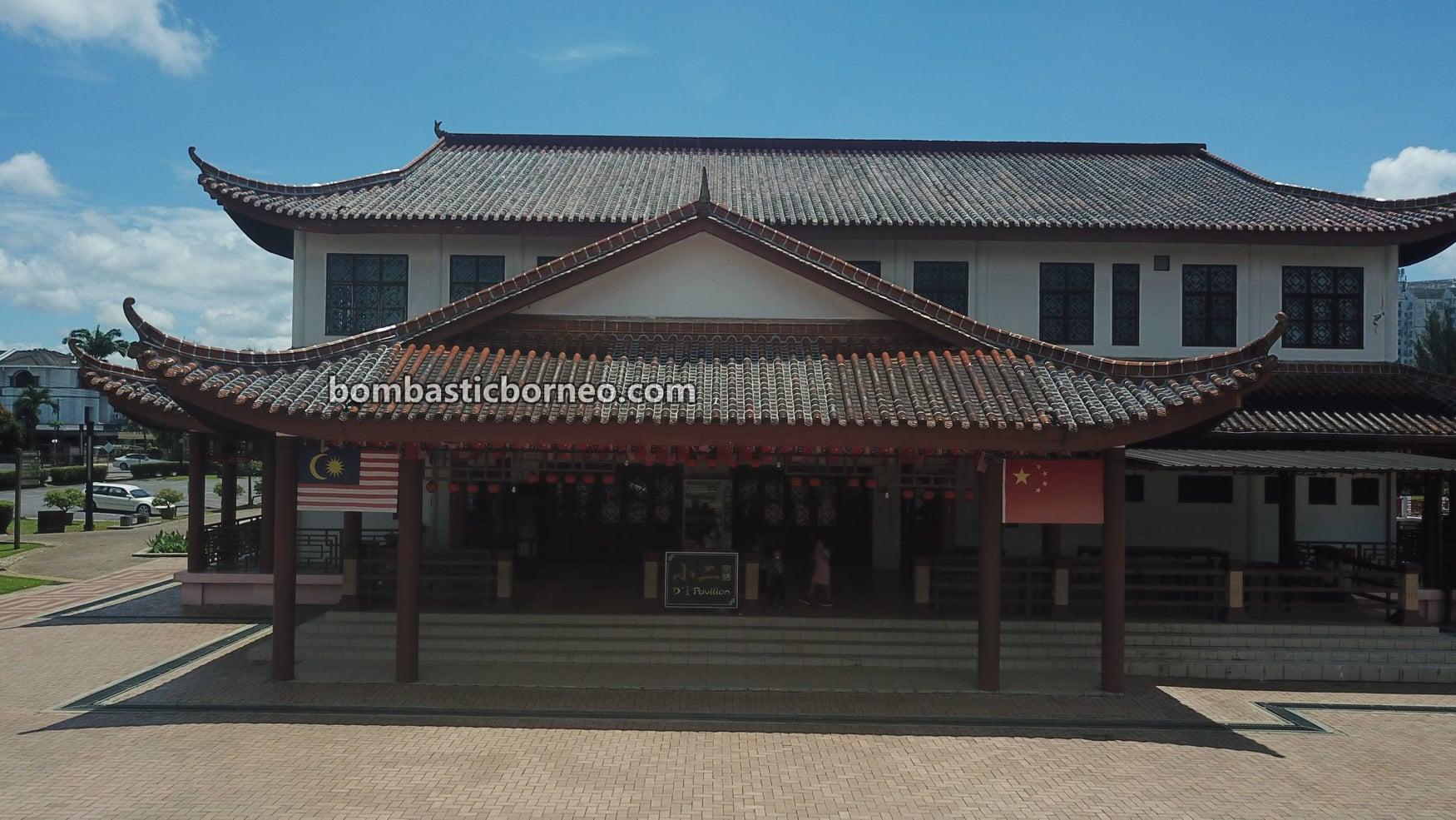 Malaysia-China Friendship Park, Taman Sahabat, Garden Park, Admiral Cheng Ho, destination, fish feeding, outdoor, jogging, walking, Tourism, travel locally, Borneo 马来西亚砂拉越, 马中友谊公园鄭和, 古晋运动旅游景点,