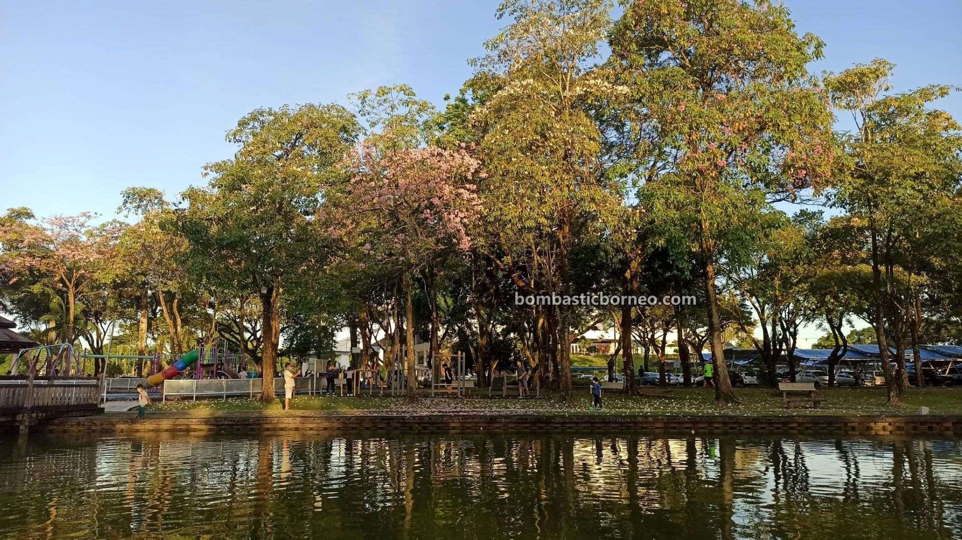 destination, nature, outdoor, exercise, garden, jogging, Park, tempat senaman, Malaysia, Tourism, tourist attraction, travel local, 探索婆罗洲游踪, 马来西亚砂拉越, 古晋南市运动公园,